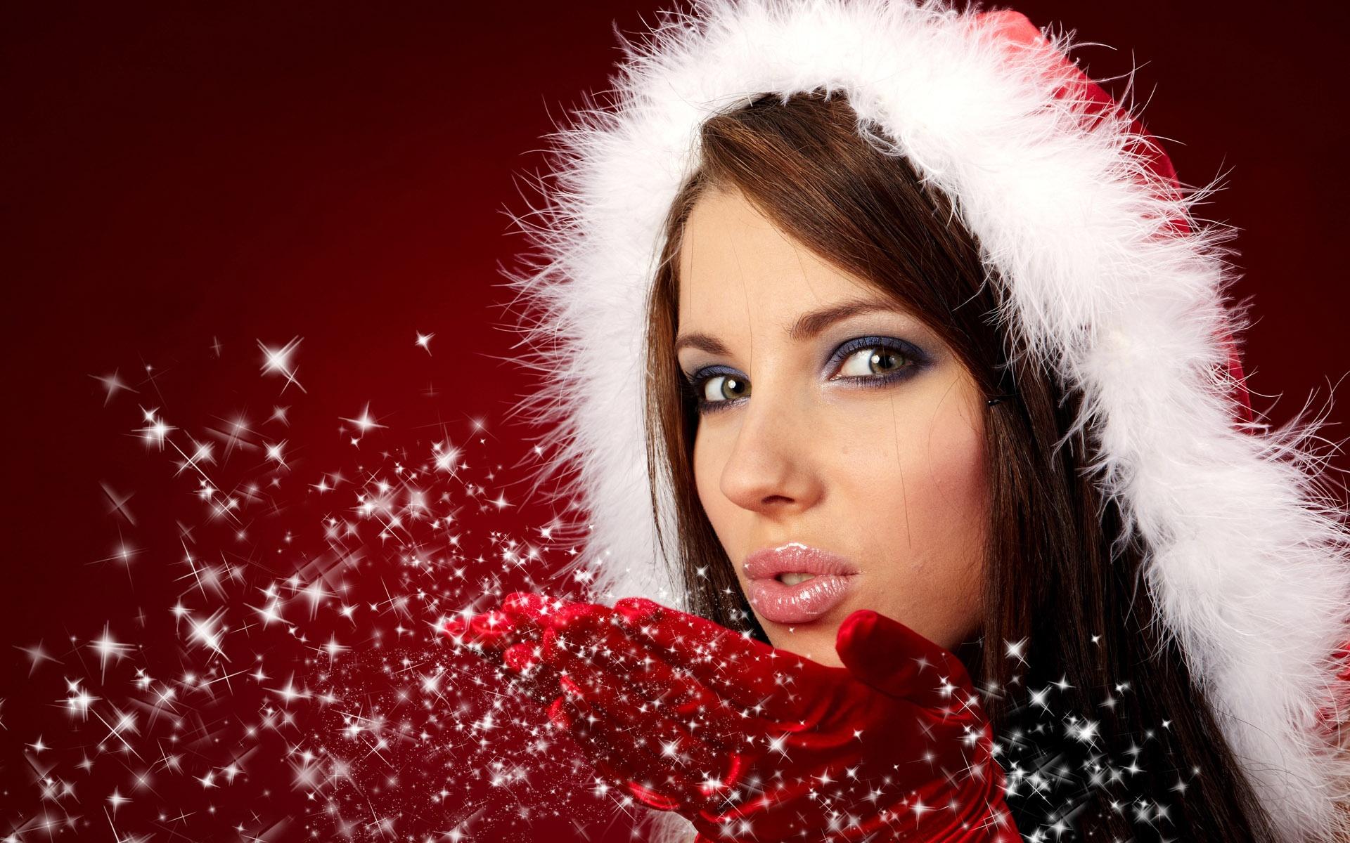 Christmas Girl wallpaper
