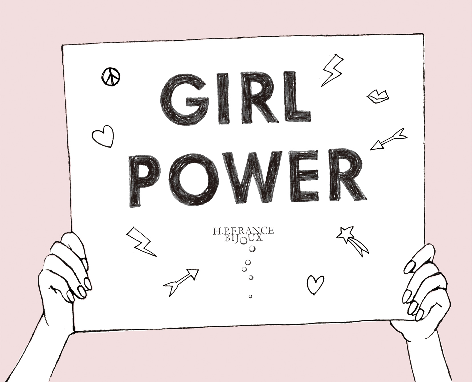 H.P.FRANCE — GIRL POWER Collection at H.P.FRANCE BIJOUX