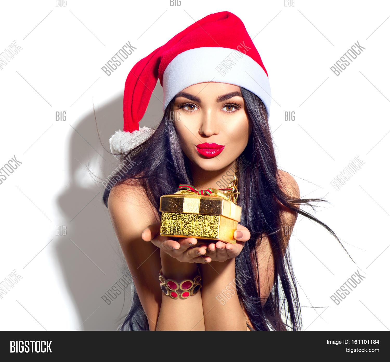 Beauty Christmas Fashion Model Girl Image & Photo | Bigstock