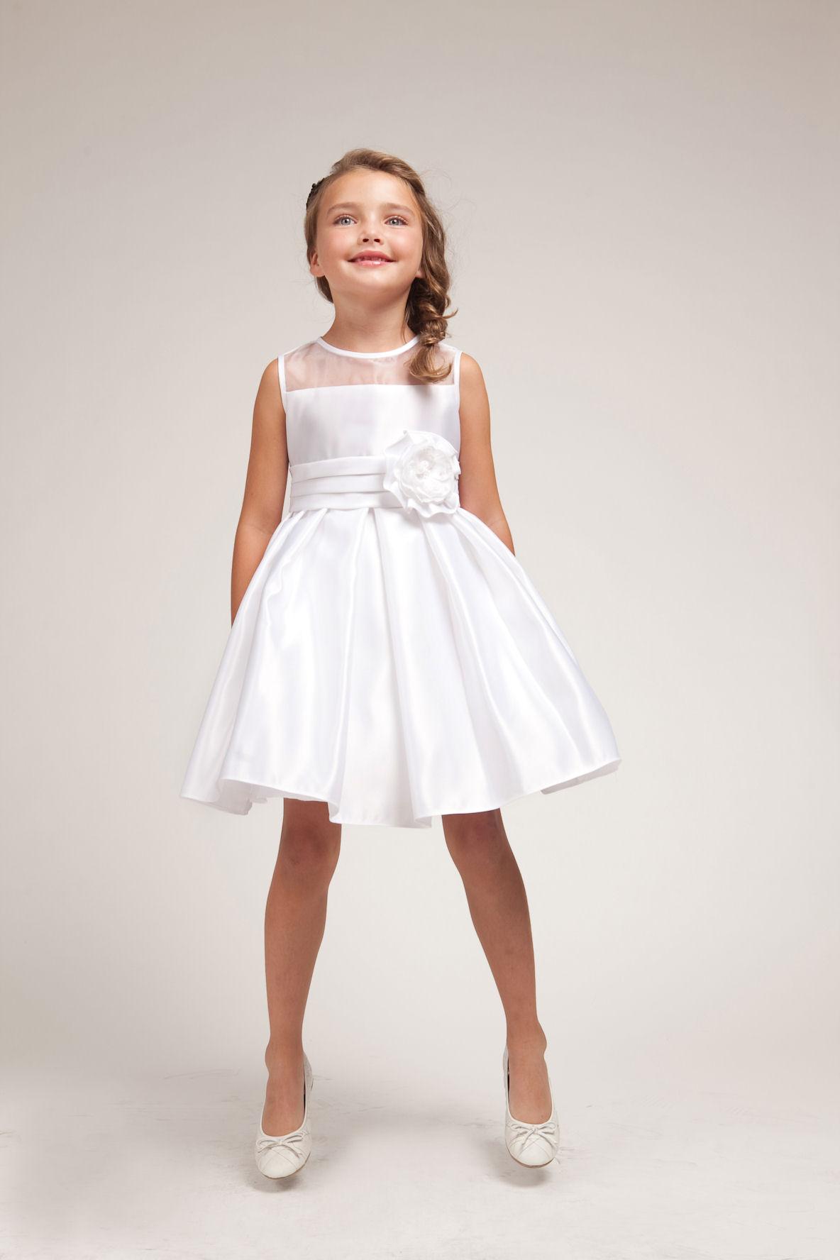 White Dress For Girls - Dress Ty