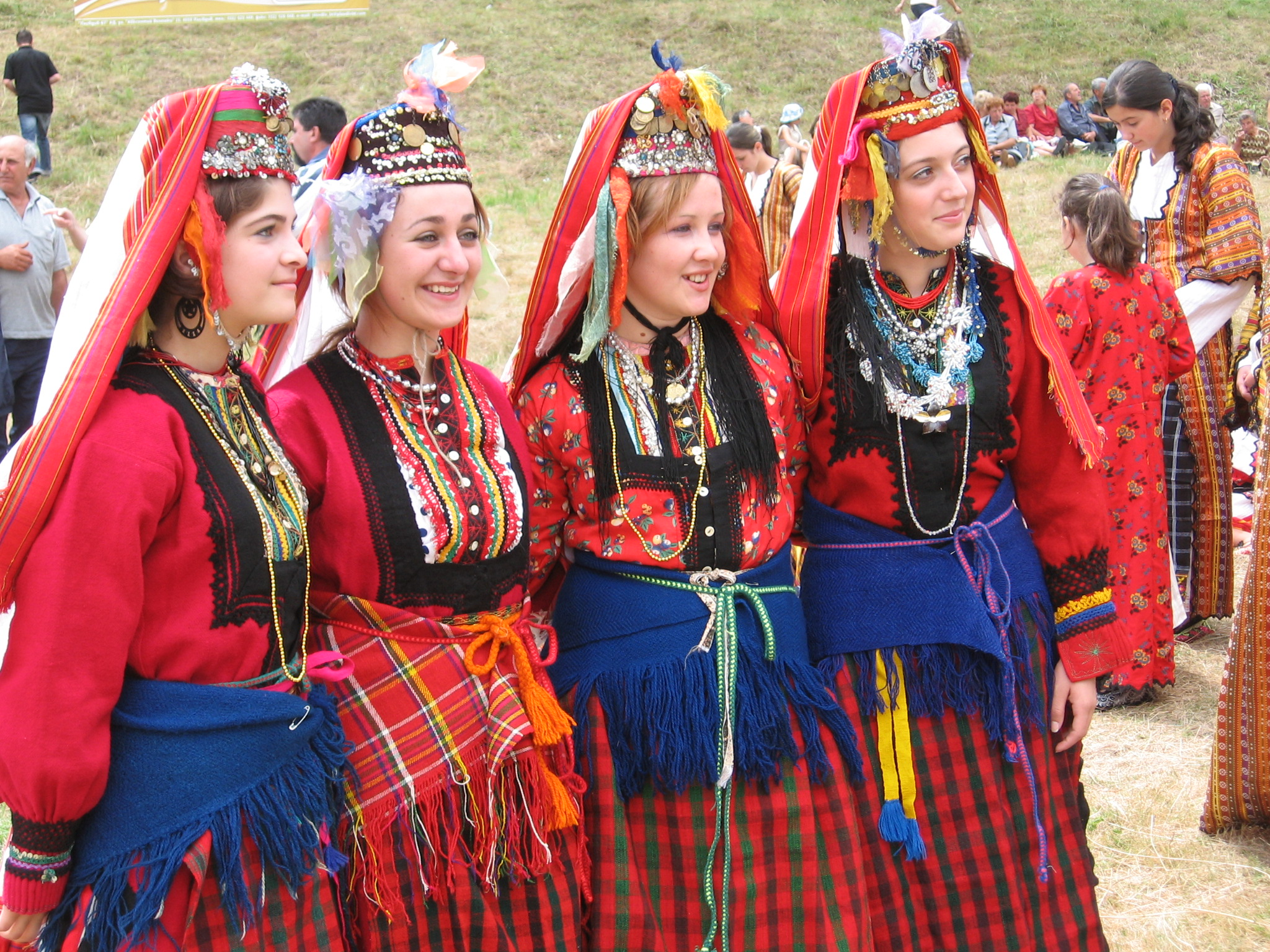 Girls, Bspo06, Colorfull, Culture, Folklore, HQ Photo