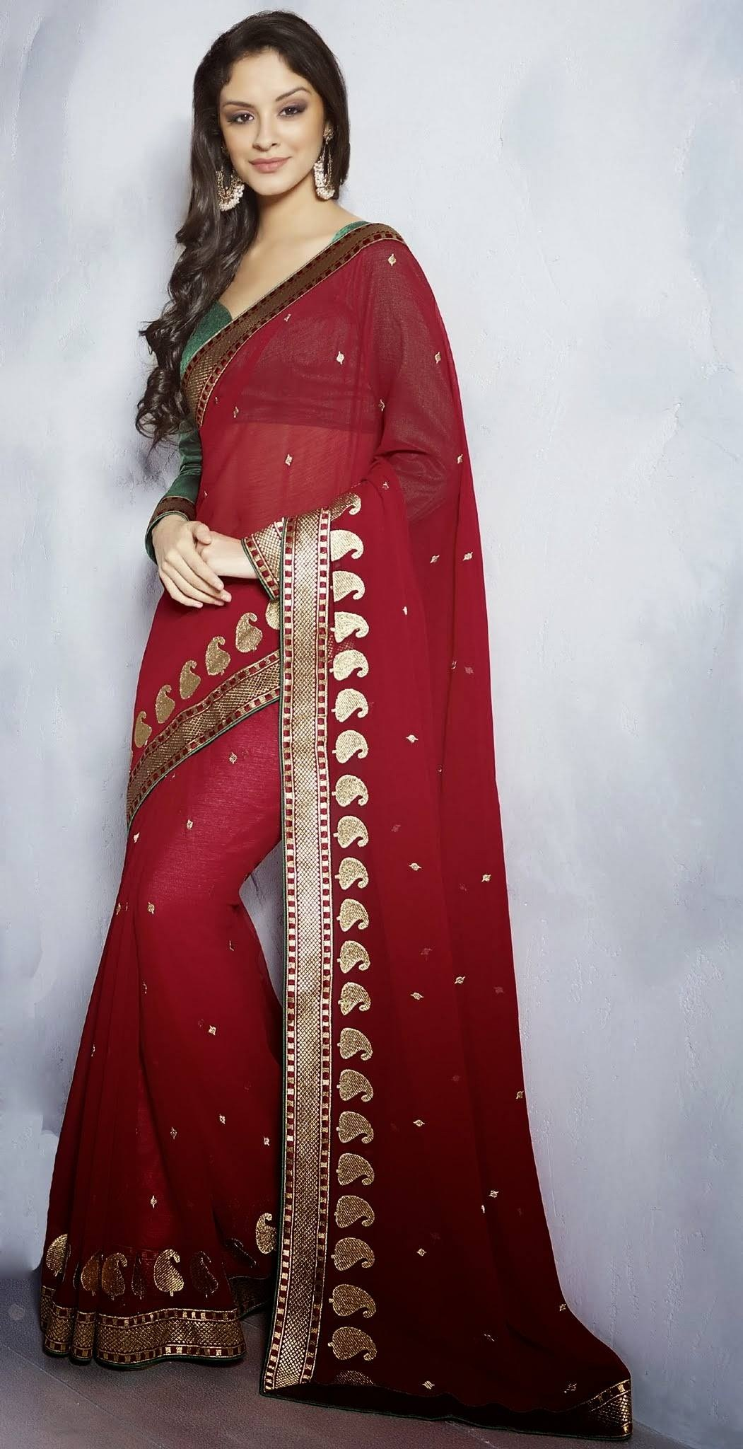 Classic Saree For Young Girls 8 | StyleCry: Bridal Dresses, Women ...
