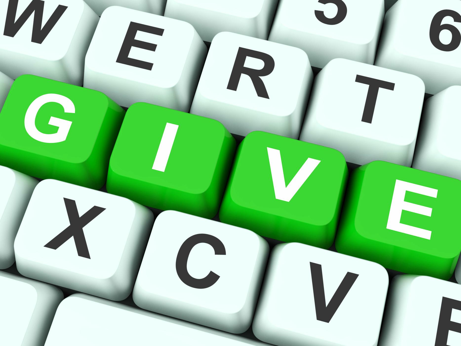 Give keys show bestowed or deliver photo