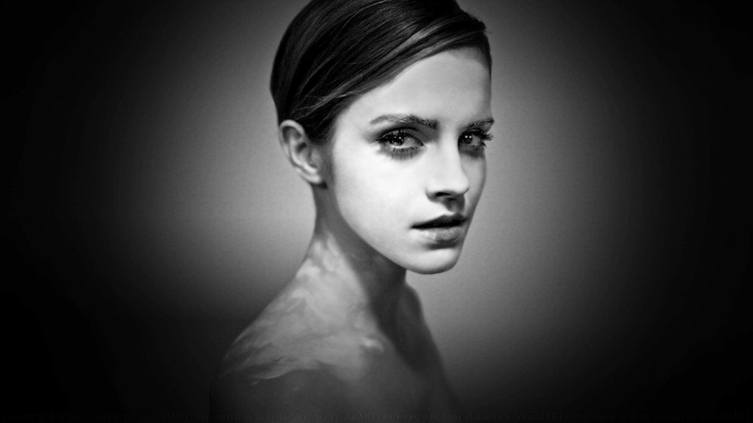 Emma Watson Glamour Portrait II by Dave-Daring on DeviantArt