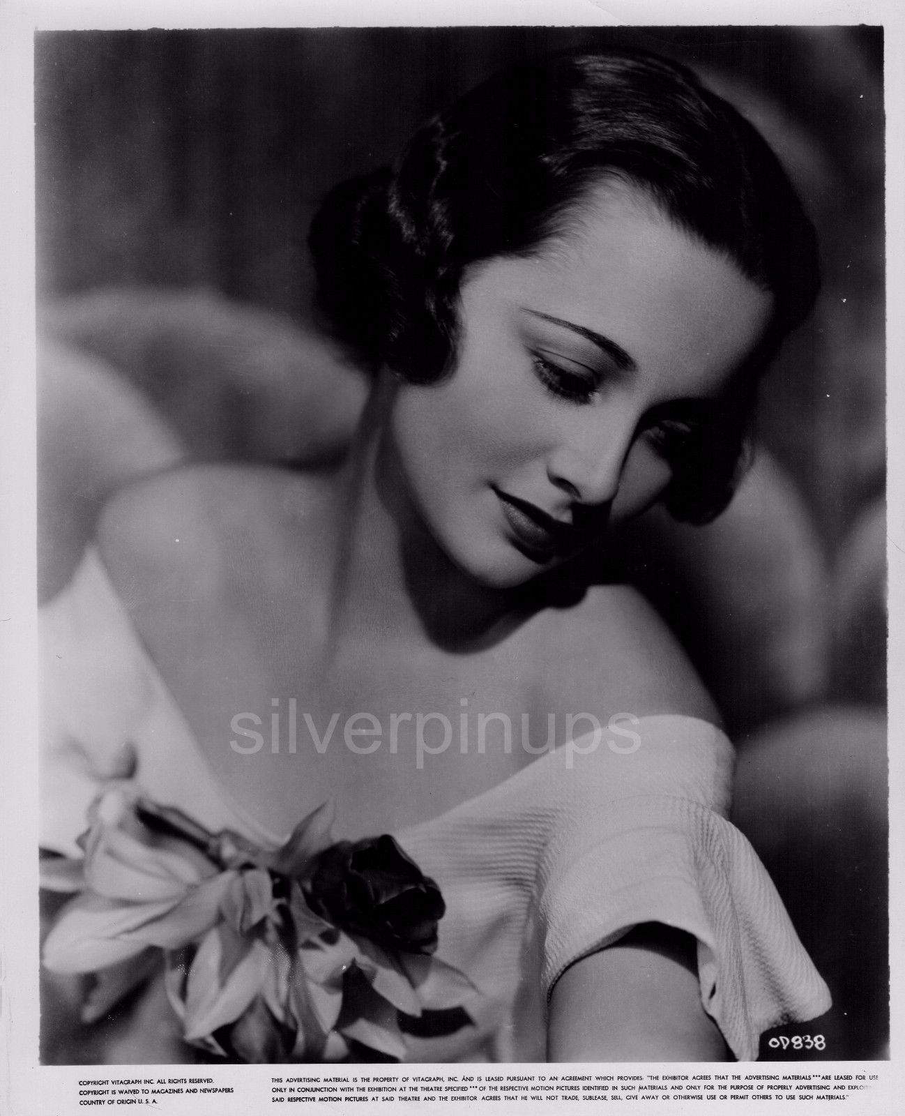Orig 1930's OLIVIA DE HAVILLAND Pure Elegance.. GLAMOUR Portrait by ...