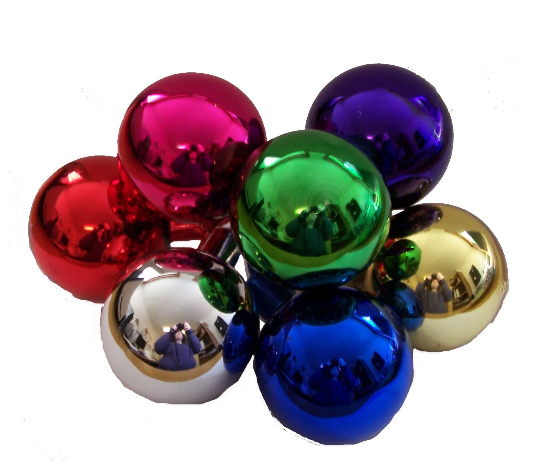 50 mm Glass Balls - Assorted - Decorative Picks - Picks and ...