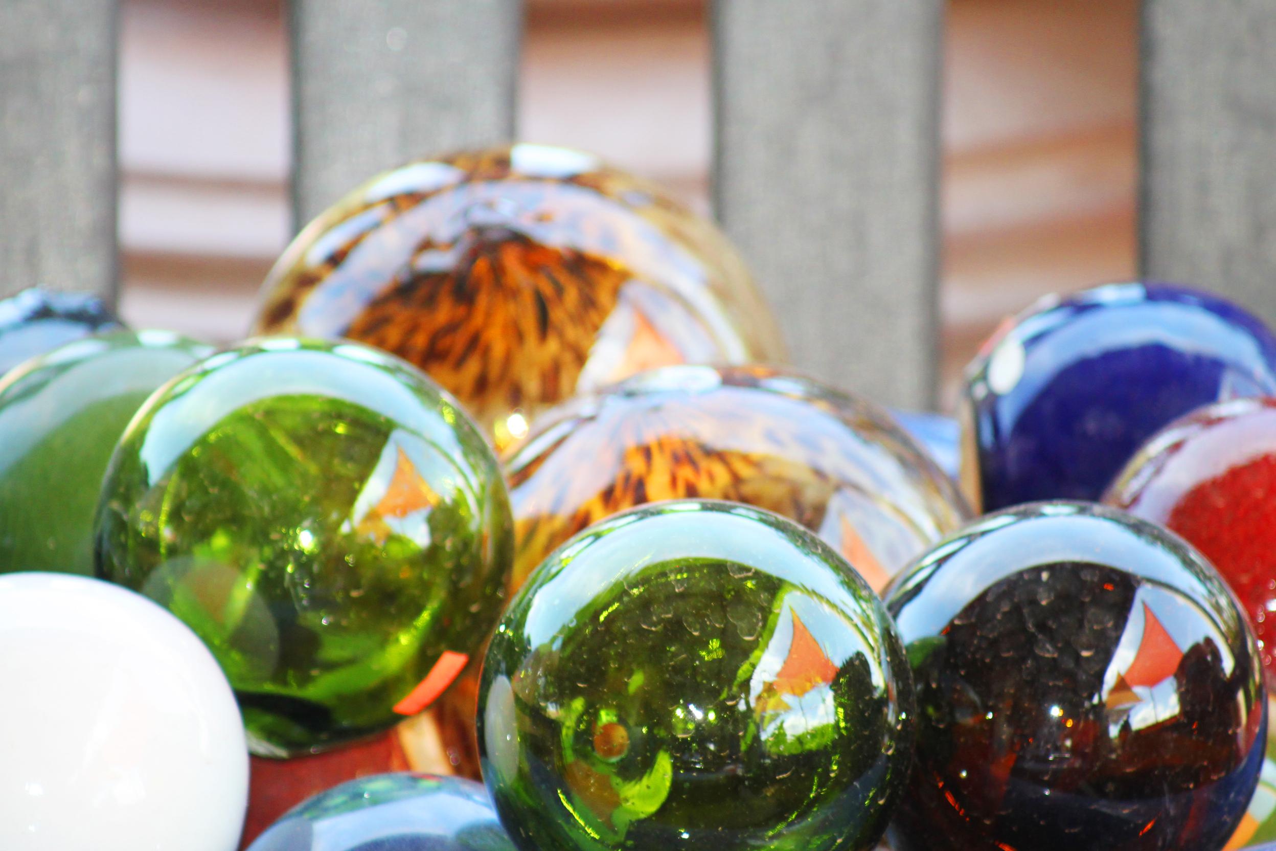 Glass balls, Backdrop, Seasonal, Ornament, Ornate, HQ Photo