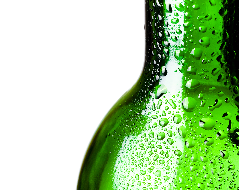 Glass bottle, Aqua, Pure, Healthy, Isolated, HQ Photo