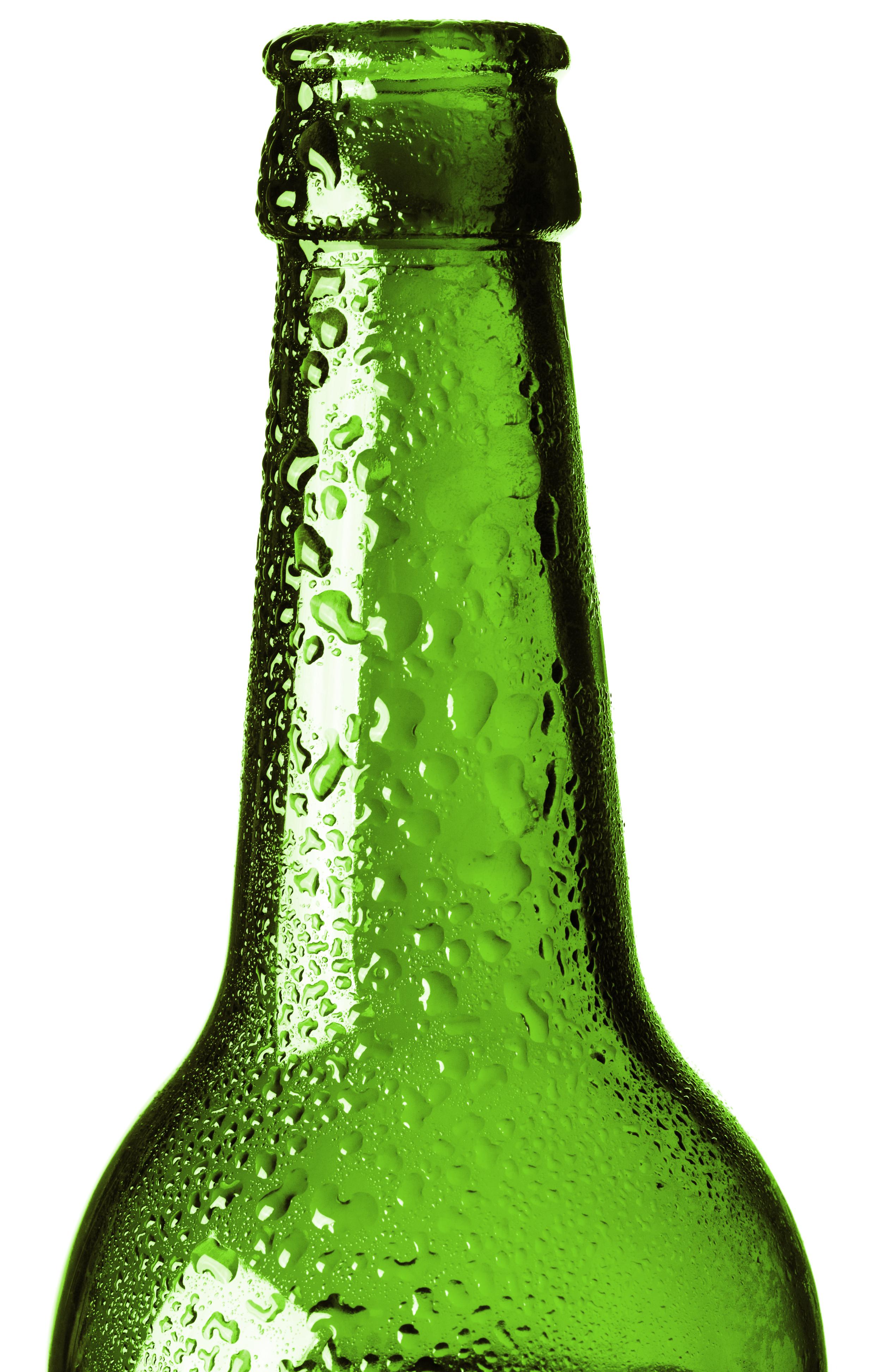 Glass bottle photo