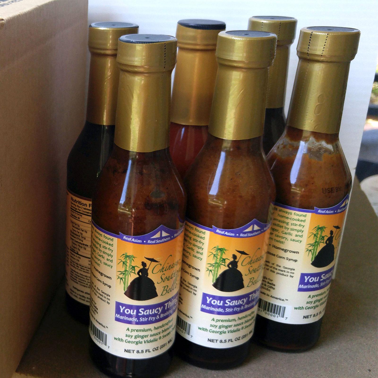 Bottle Sauce Case - 12 pk - 8 oz glass bottles (SAVE 20%!) - Chinese ...