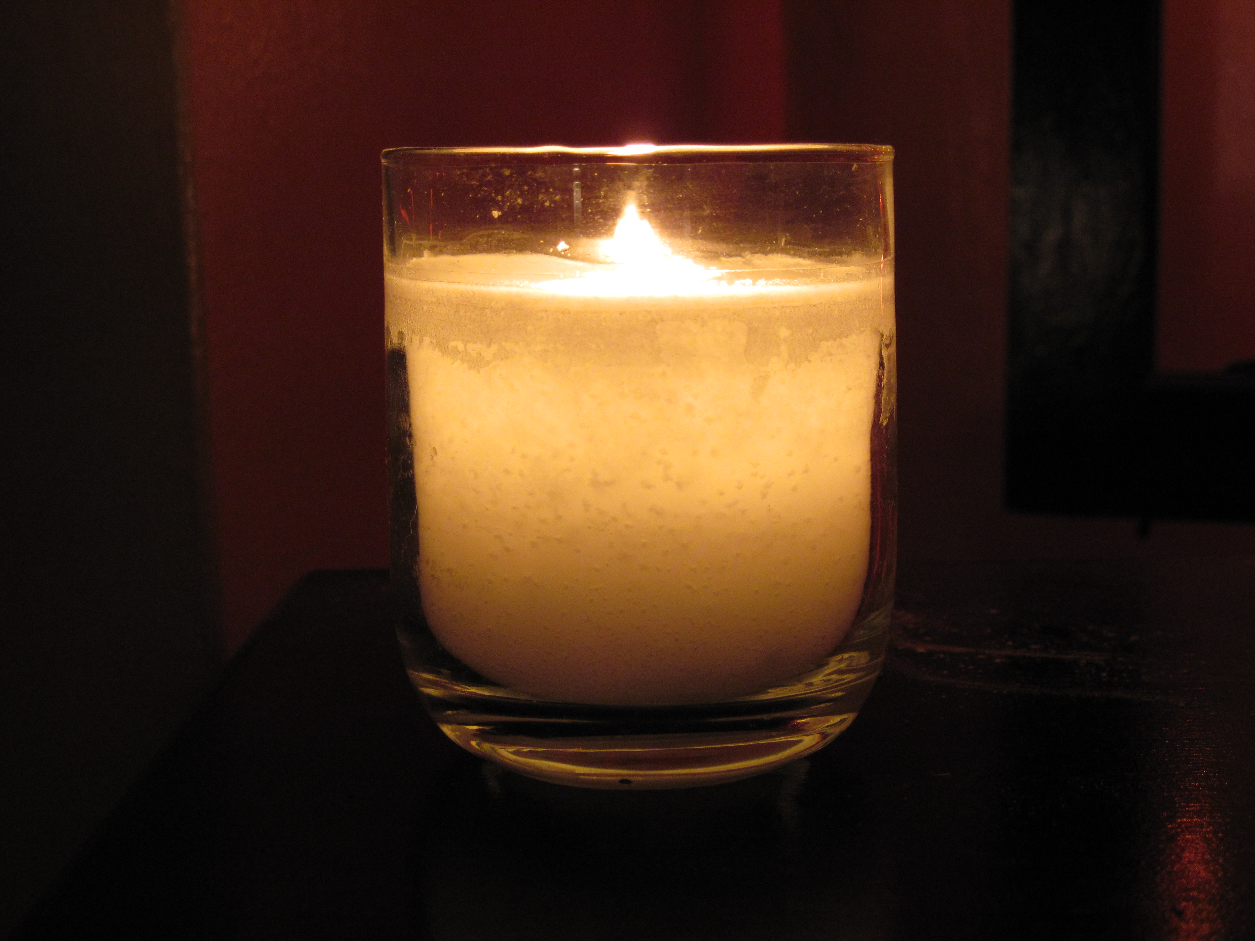Glass candles photo