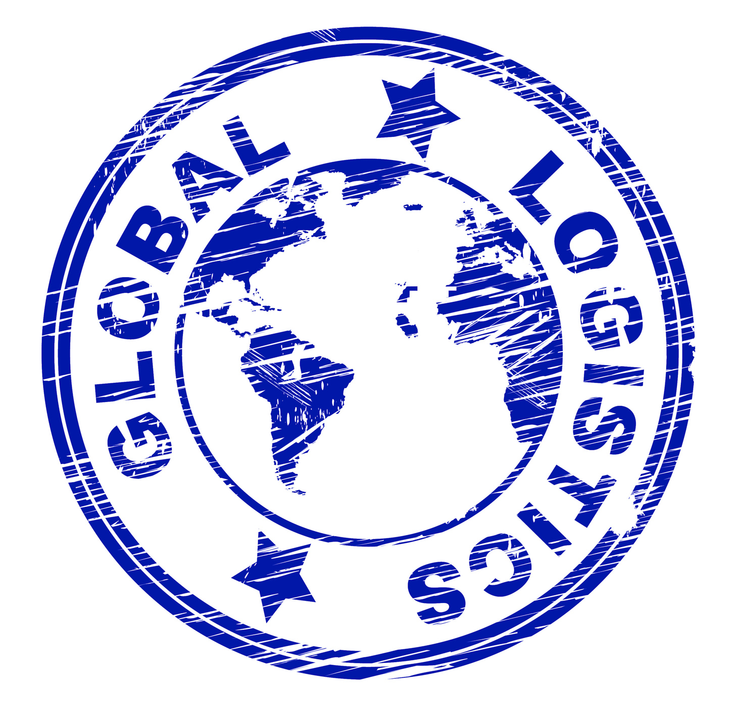 Global logistics represents coordination globally and strategies photo