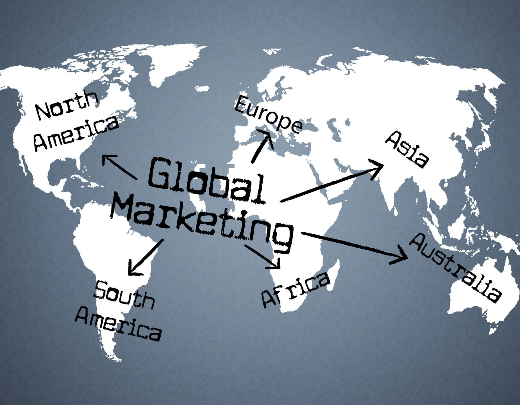 Global marketing indicates planet globalise and globalisation photo