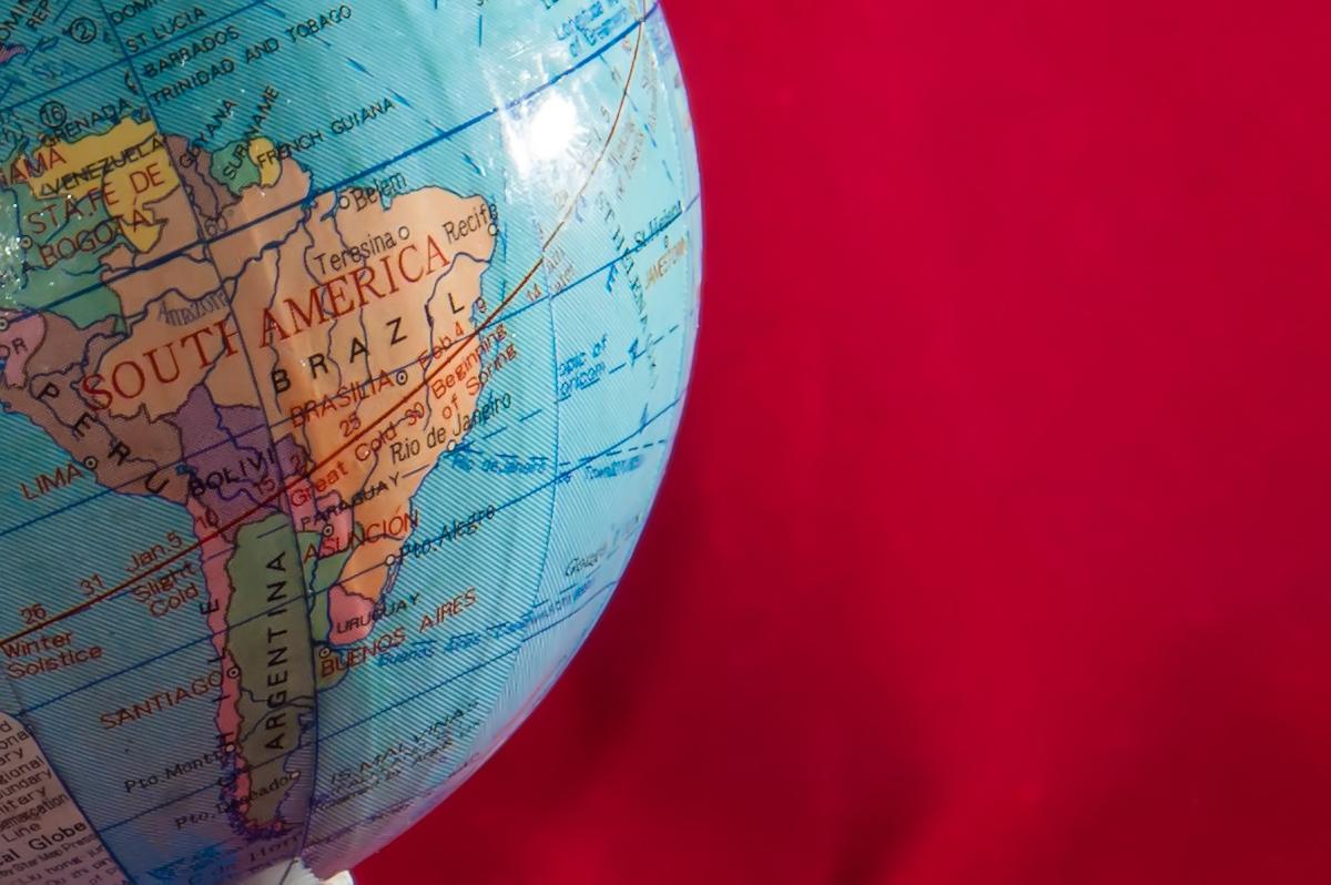 Globe, South, World, Map, Brazil, HQ Photo