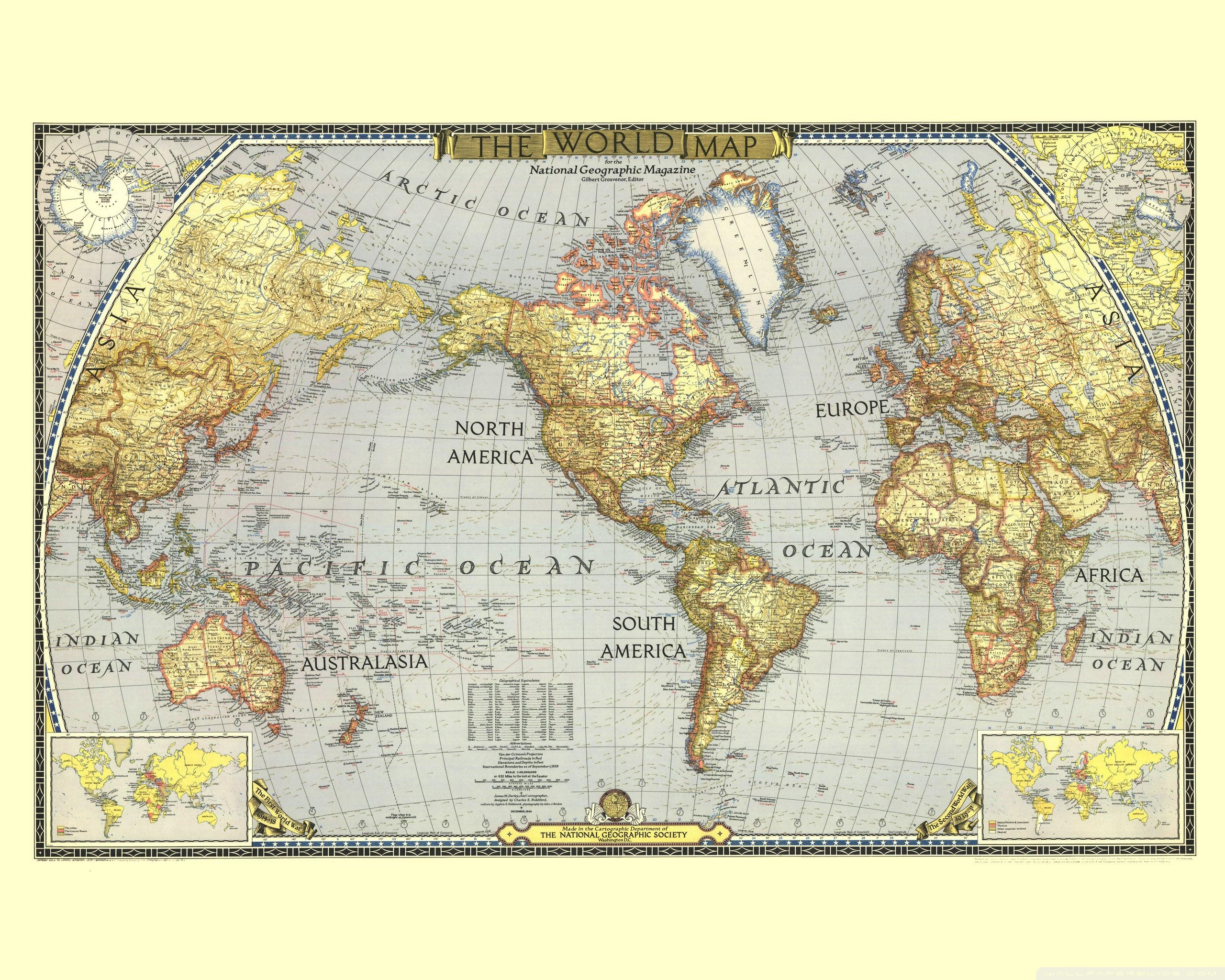 World Map ❤ 4K HD Desktop Wallpaper for 4K Ultra HD TV • Wide ...
