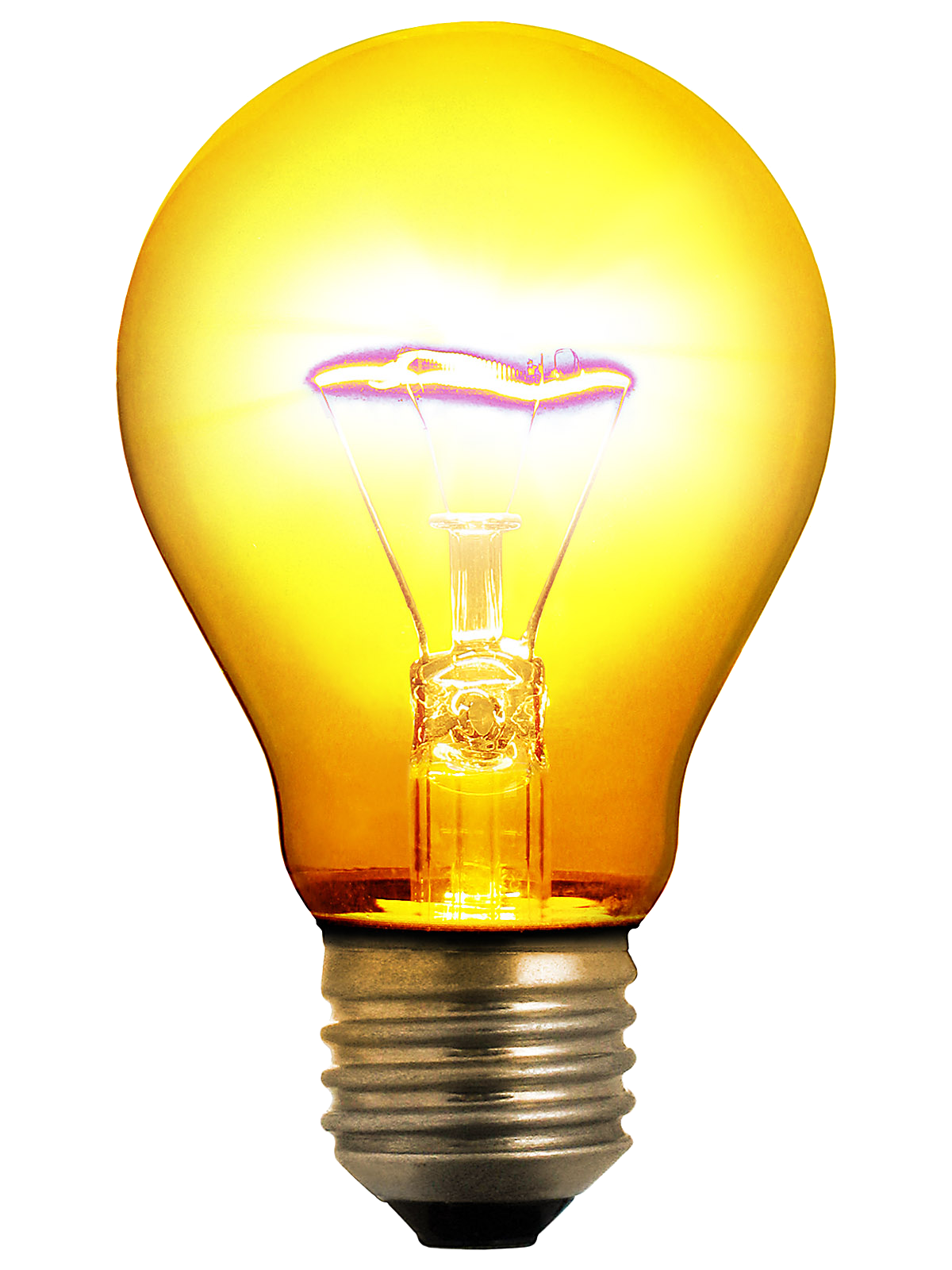 Glowing Bulb Transparent PNG