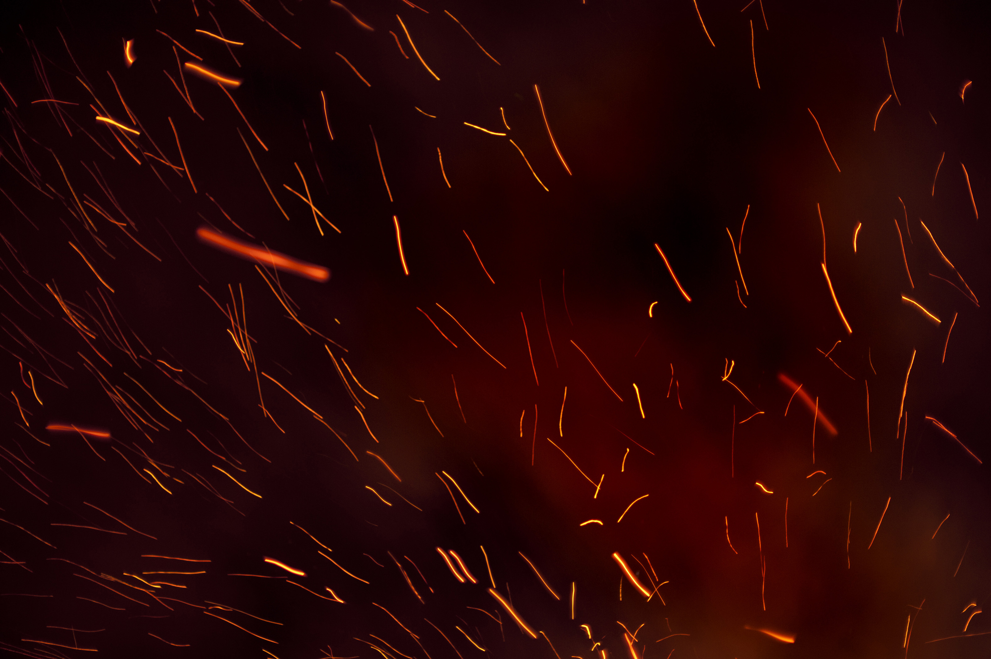 Free Stock Photo 8864 Fiery trails from glowing embers | freeimageslive
