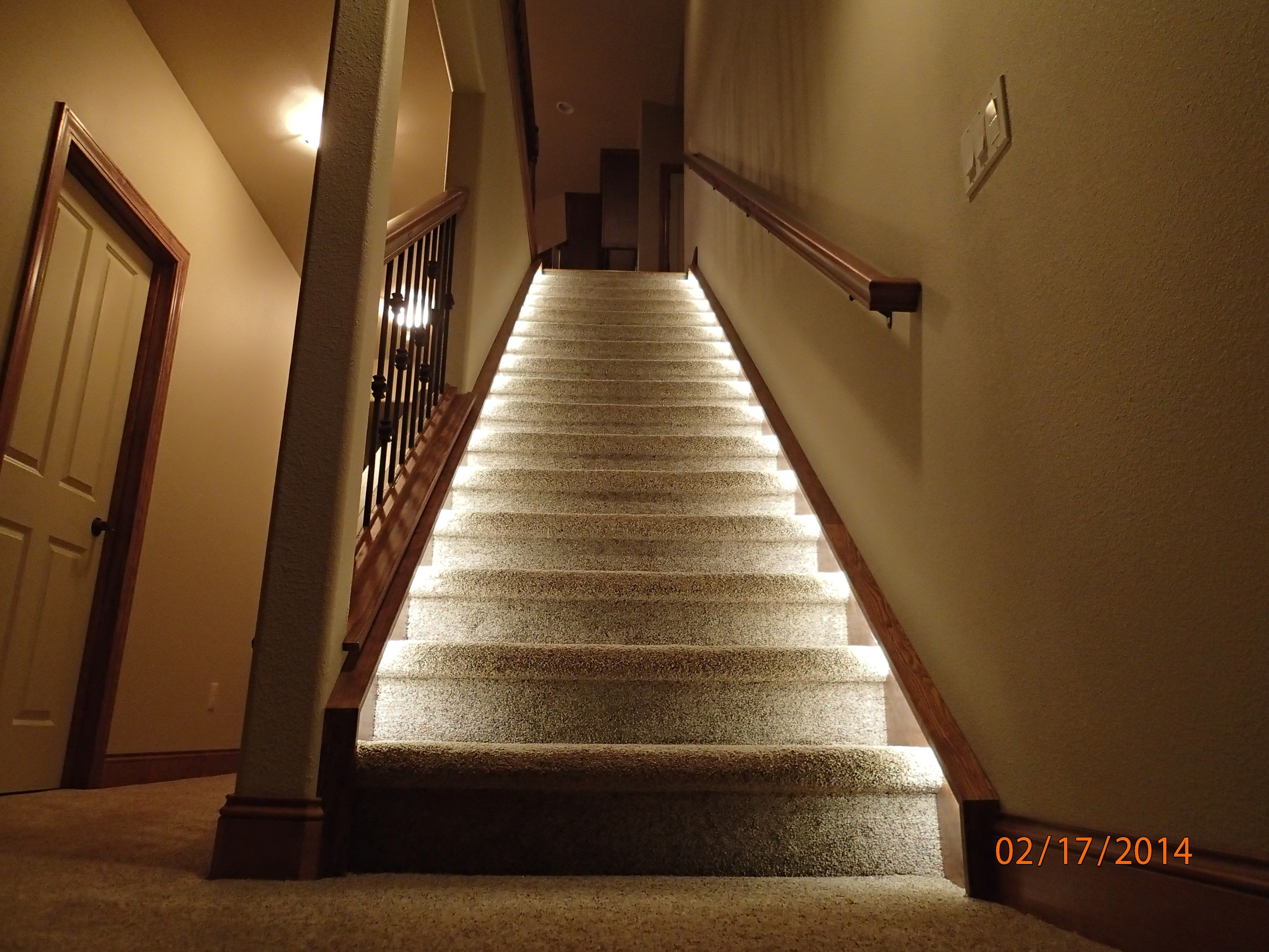 Lighting for the home: Illuminate the staircase leading to the ...