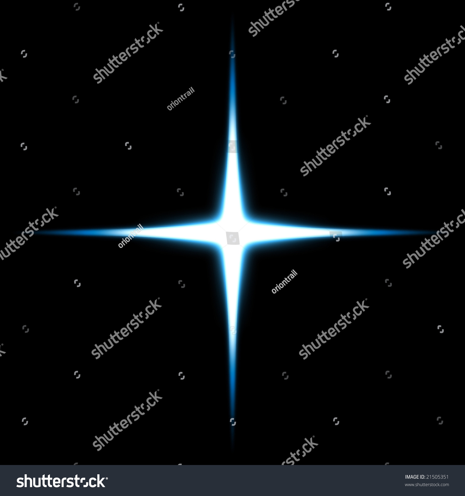 Glowing Star Stock Illustration 21505351 - Shutterstock