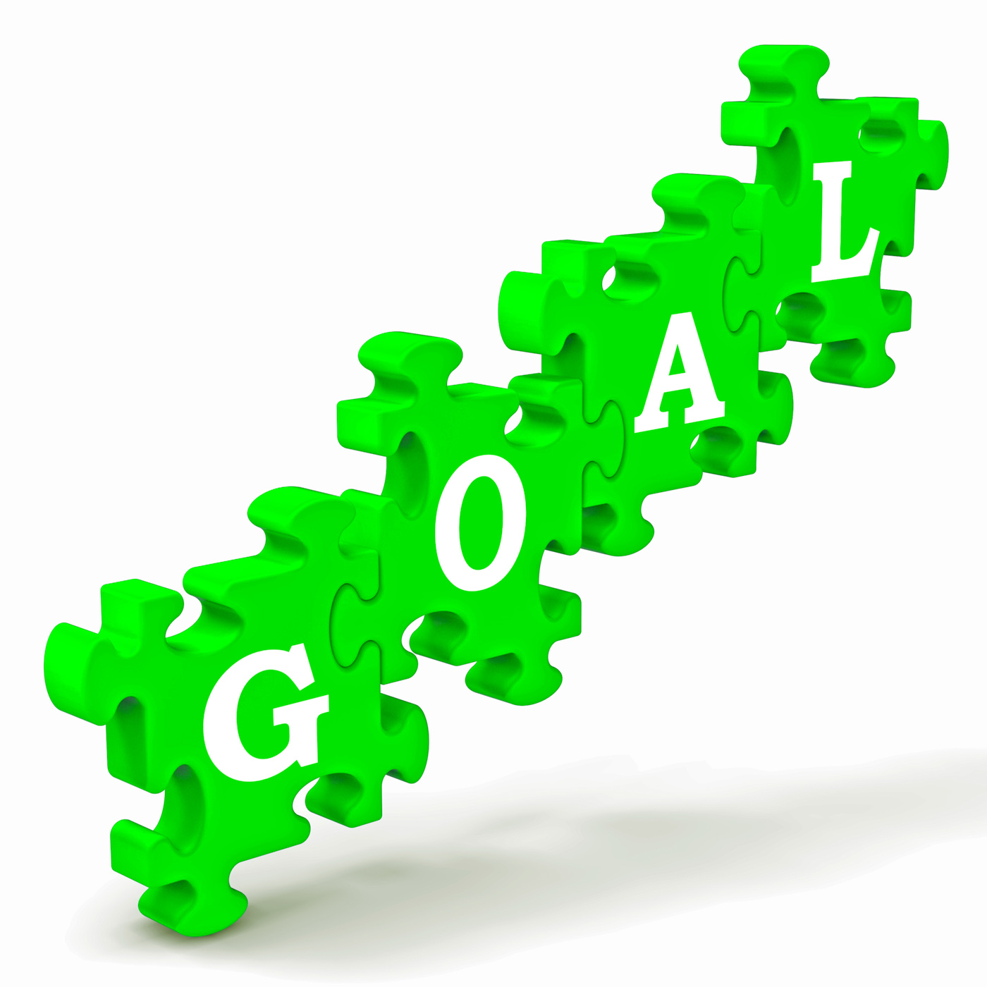 Goal Puzzle Shows Business Targets And Objectives, Aims, Motivation, Targets, Targeting, HQ Photo