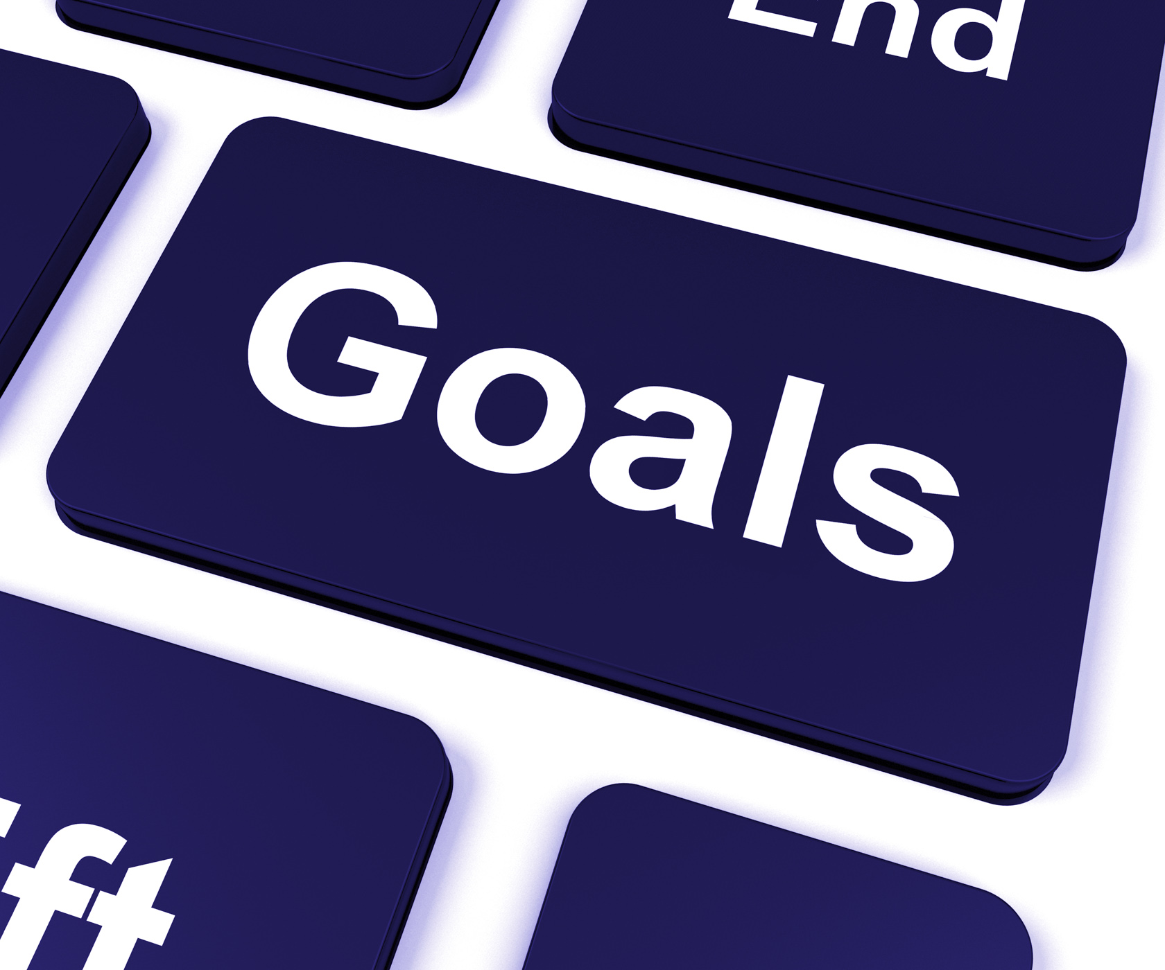 Goals Key Shows Aims Objectives Or Aspirations, Aims, Keyboard, Targets, Targeting, HQ Photo