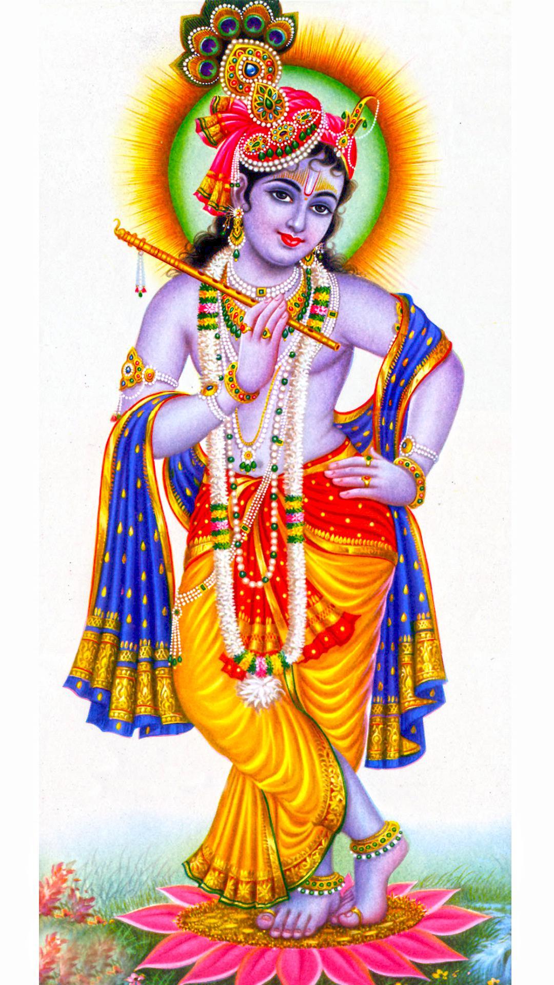 Lord Krishna portrait 1080 X 1920p - New hd wallpaperNew hd wallpaper