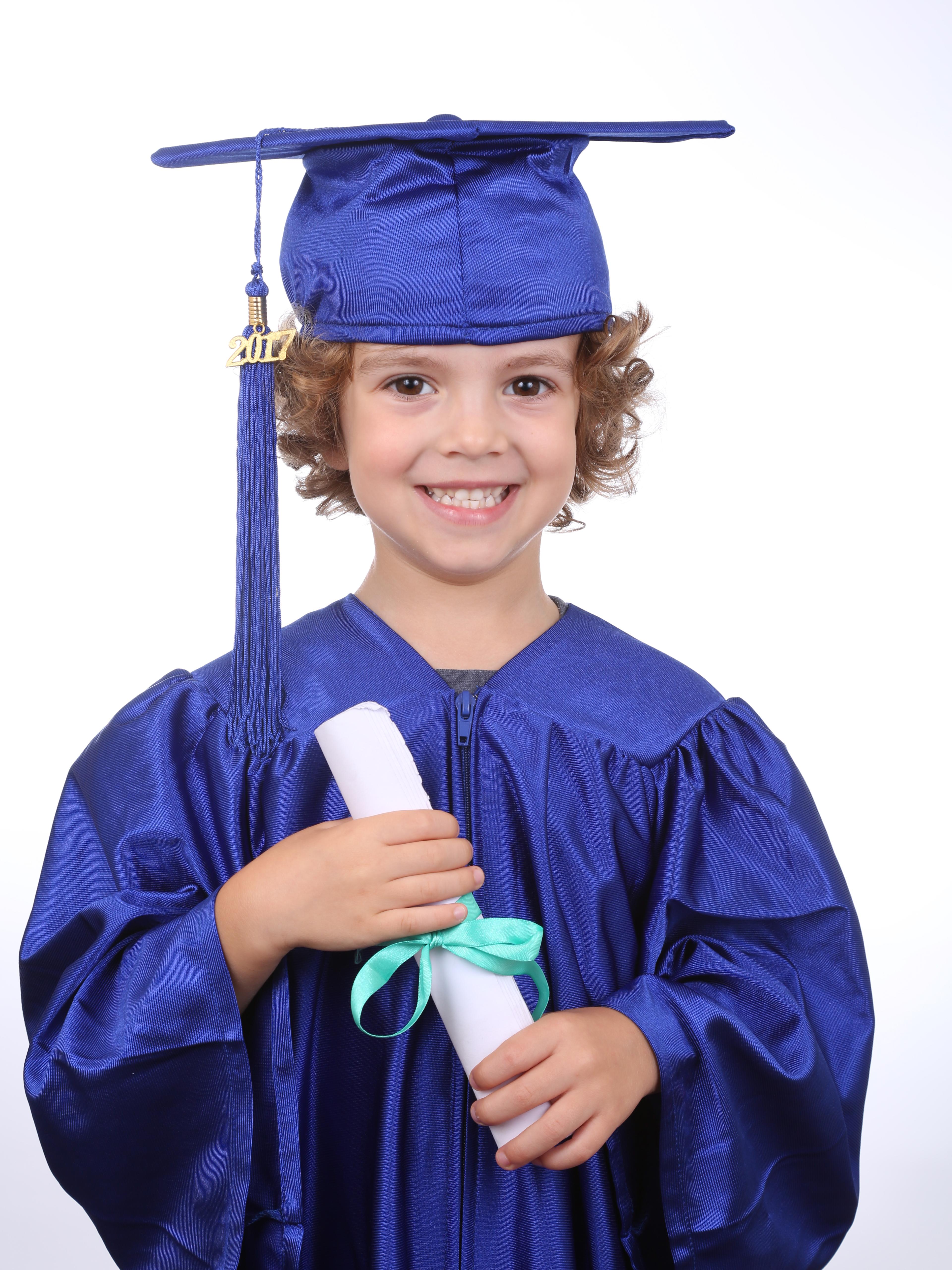 Going to Big School, Blue, Boy, Children, Dress, HQ Photo