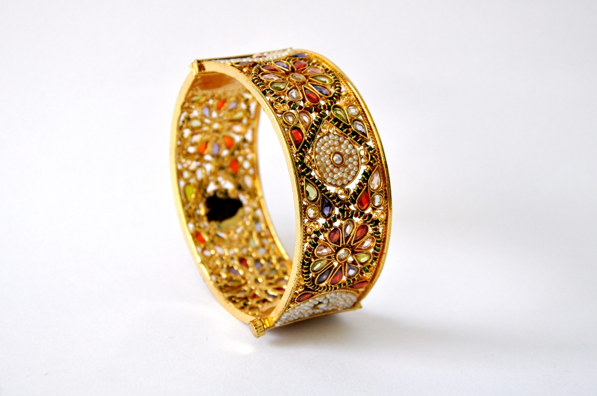 Gold bangle photo