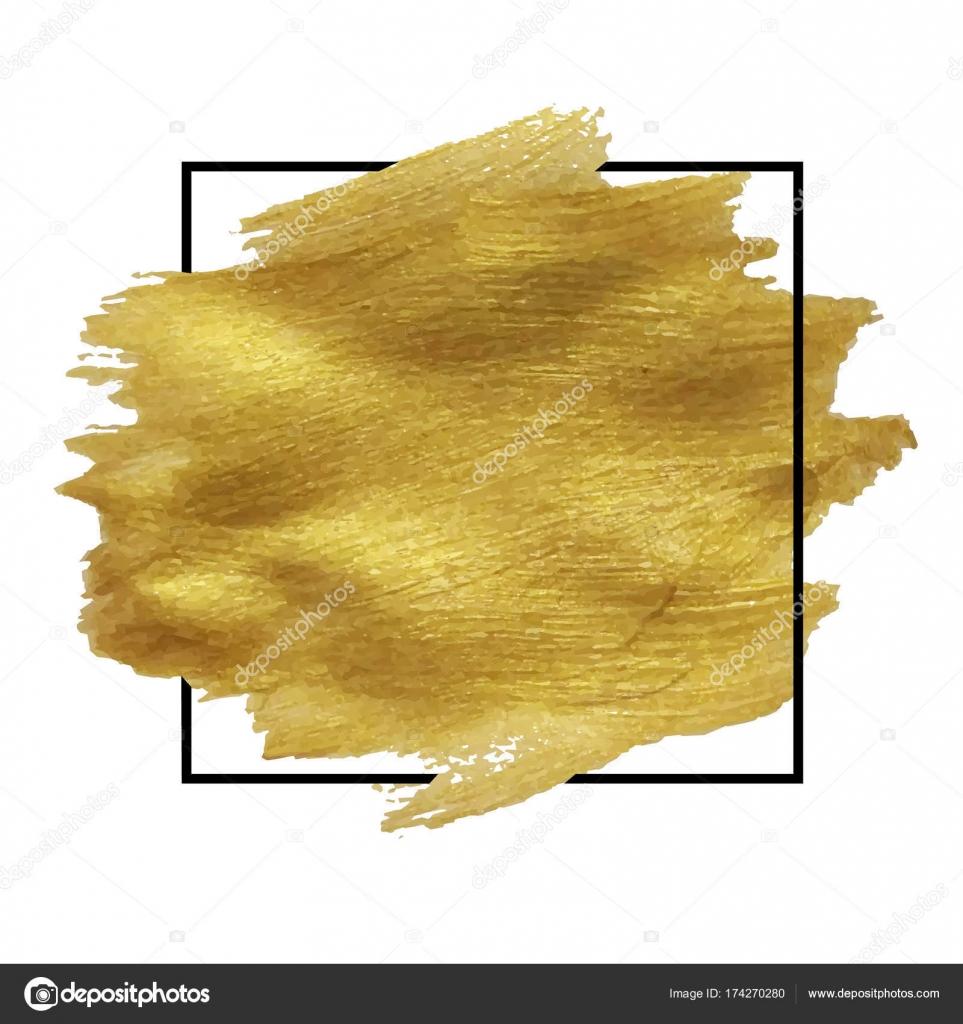 Gold blob photo