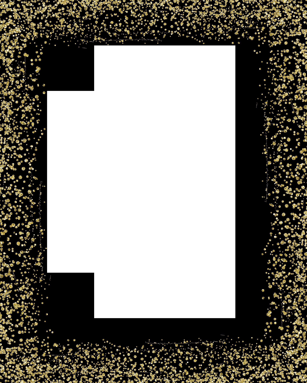 Free photo: Gold Glitter Border - Metallic, Page, Texture - Free Download - Jooinn