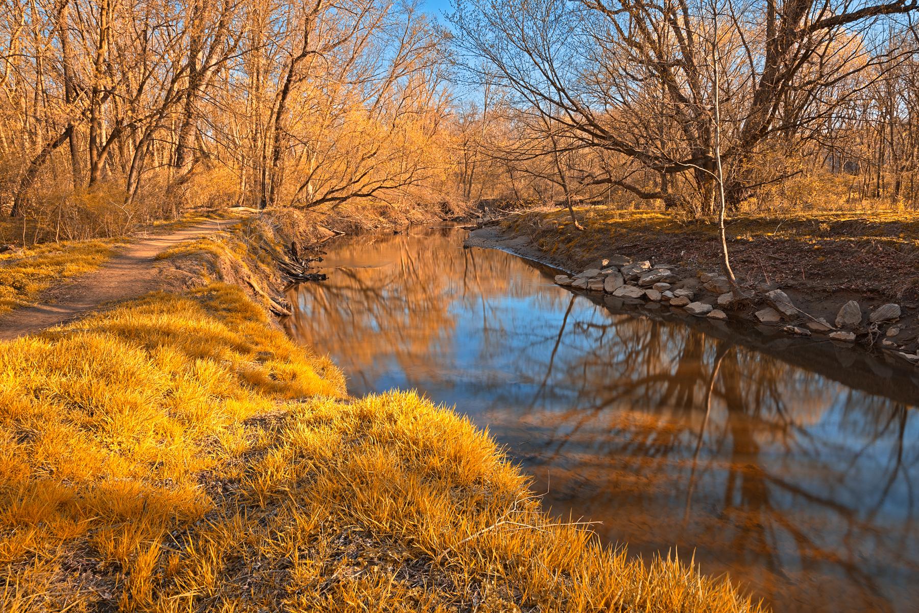 Gold Rock Creek - HDR, America, Rocks, States, Somadjinn, HQ Photo