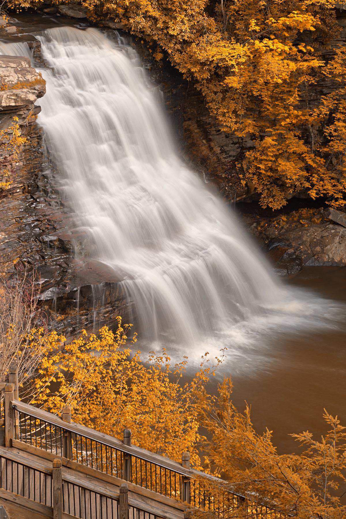 Gold swallow falls - hdr photo