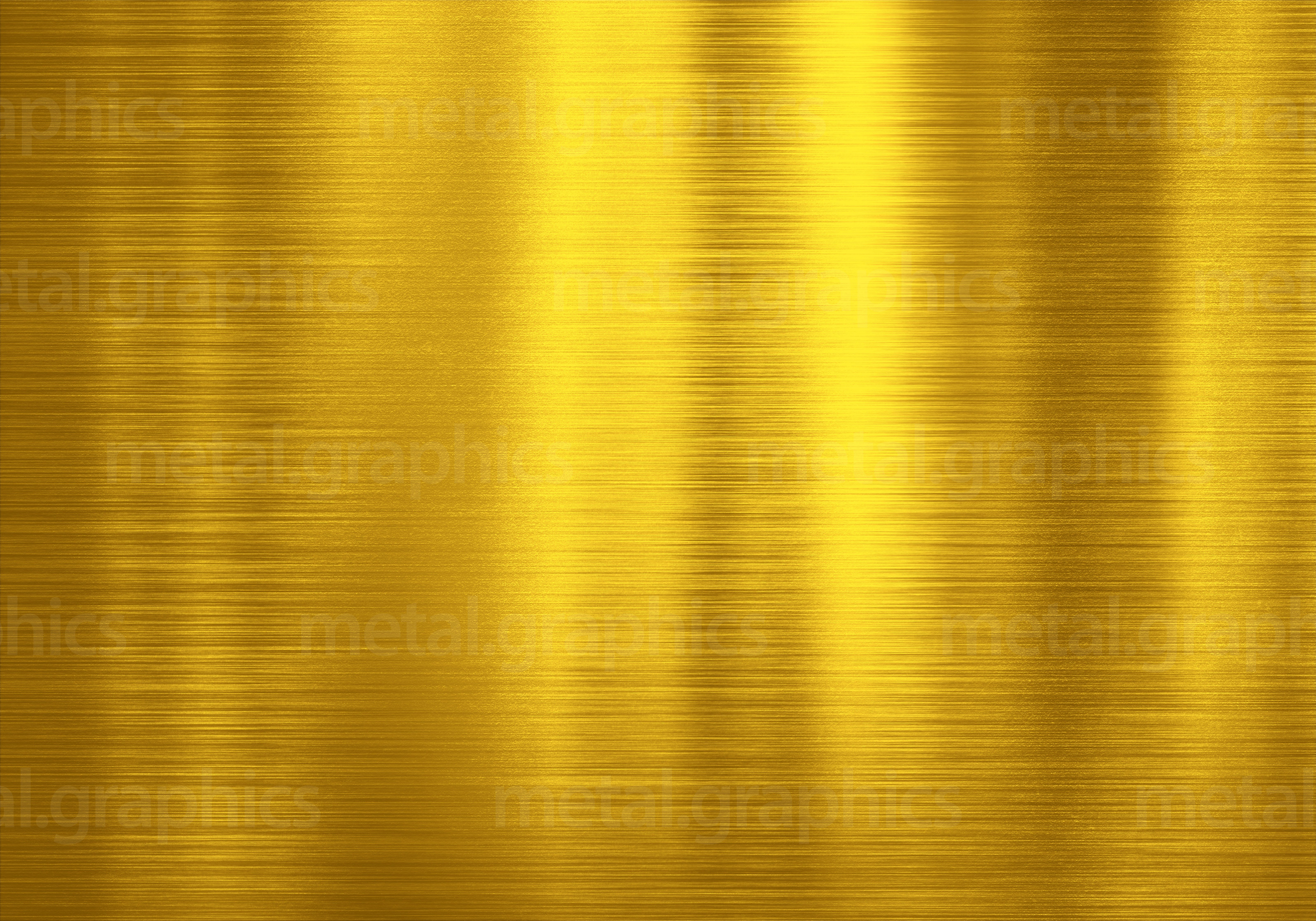 Shiny gold - Metal Graphics