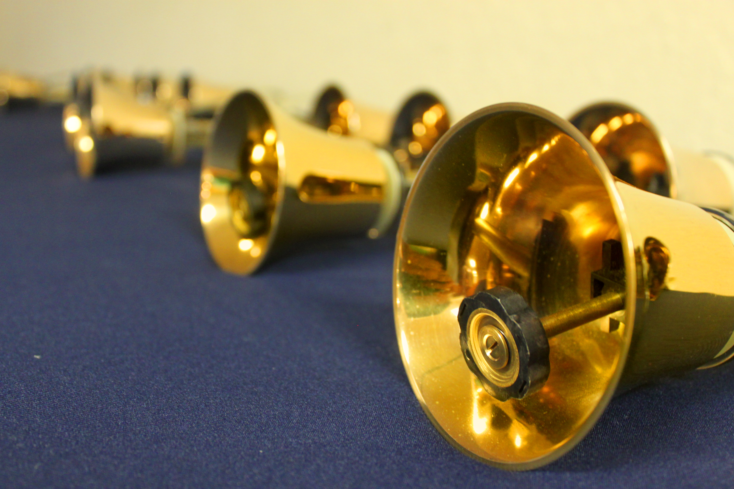 Golden bells at a church, Bell, Season, New, Object, HQ Photo