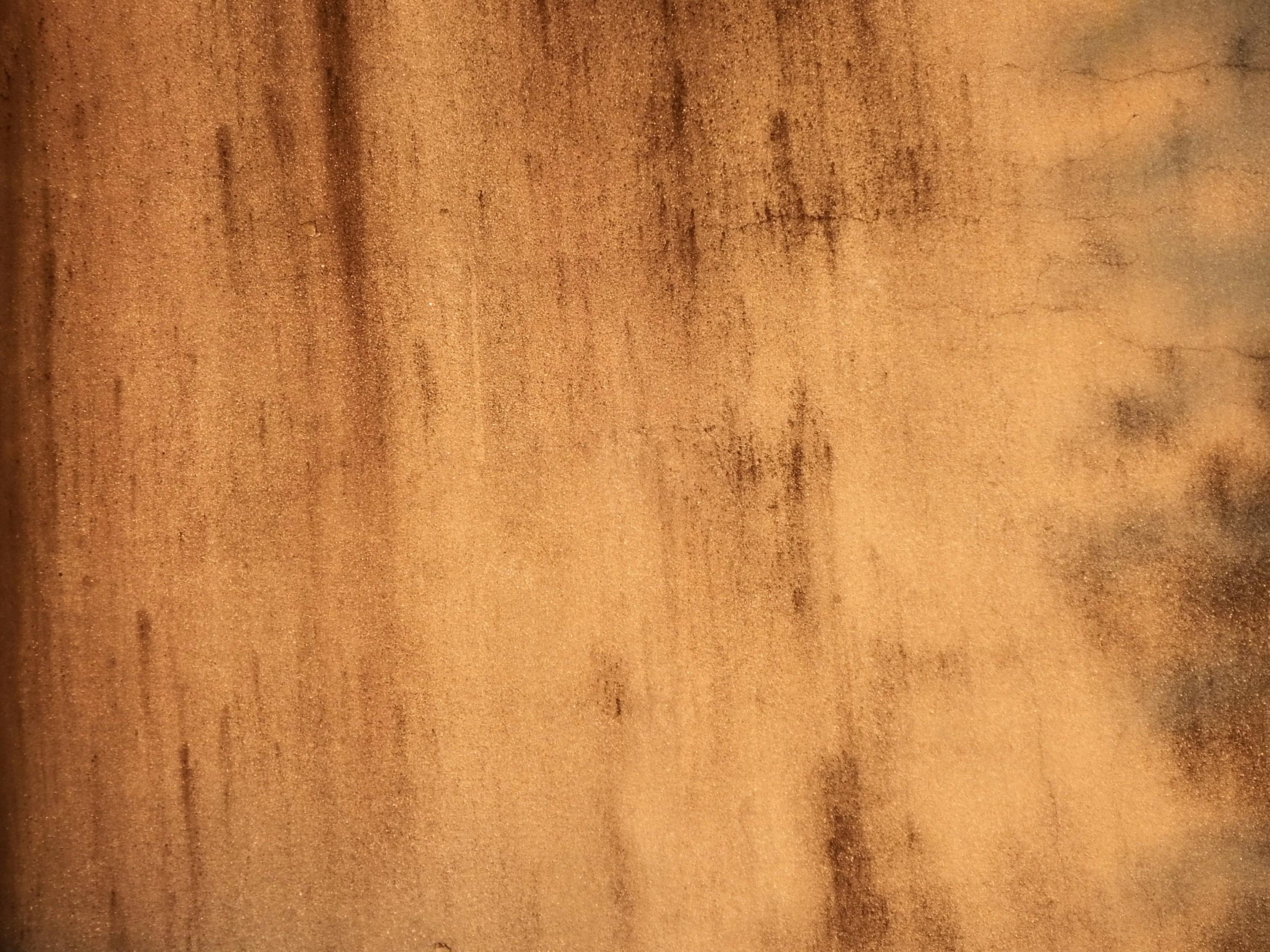 Golden Brown Concrete Texture Plaster Paint Old Light Hq Photo