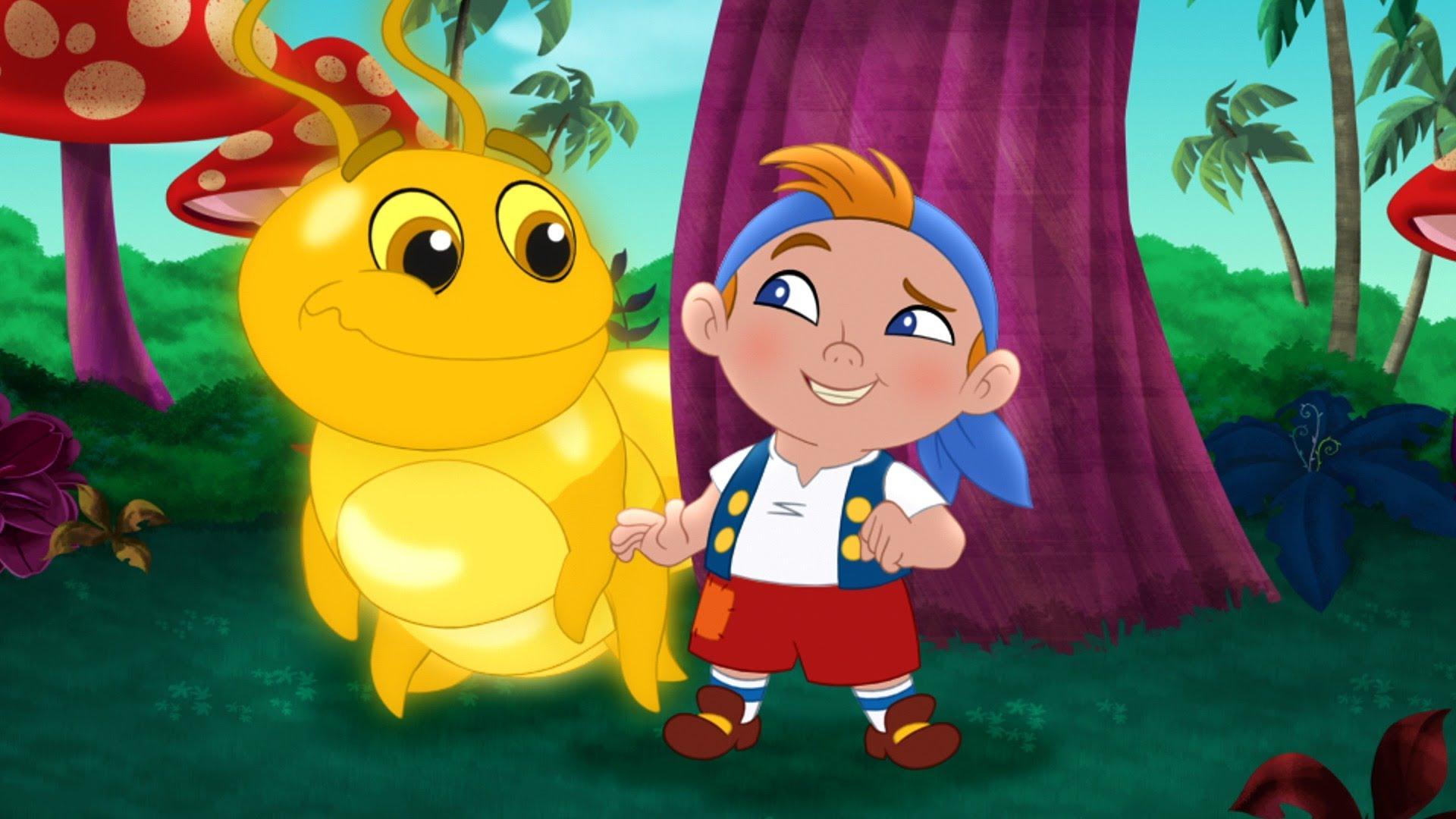 Golden Caterpillar | Jake and the Never Land Pirates Wiki | FANDOM ...