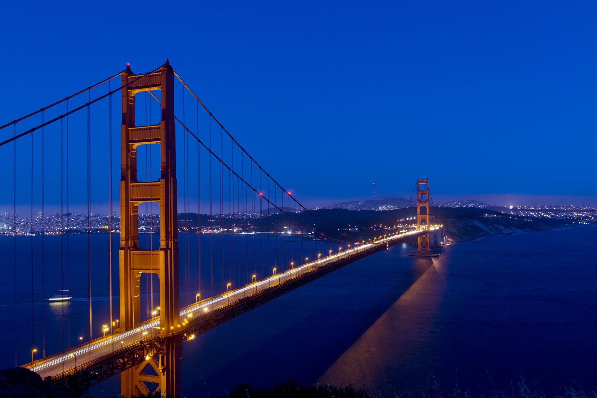 Golden Gate Bridge, America, American, Architecture, Bridge, HQ Photo