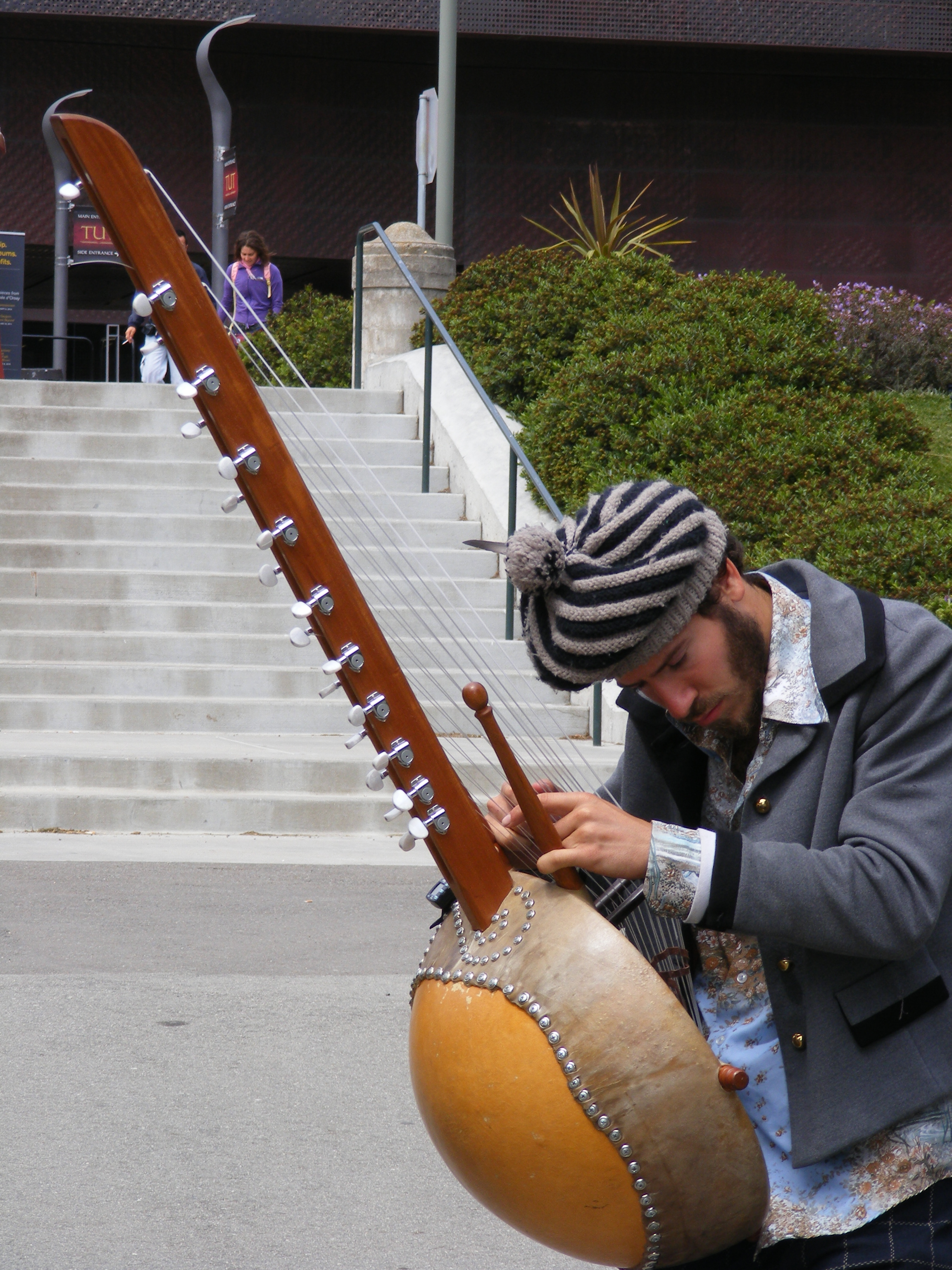 Golden Gate Park, Instrument, Man, Player, Sanfrancisco, HQ Photo