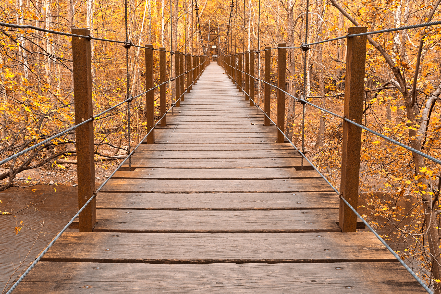 Golden grove bridge - hdr photo