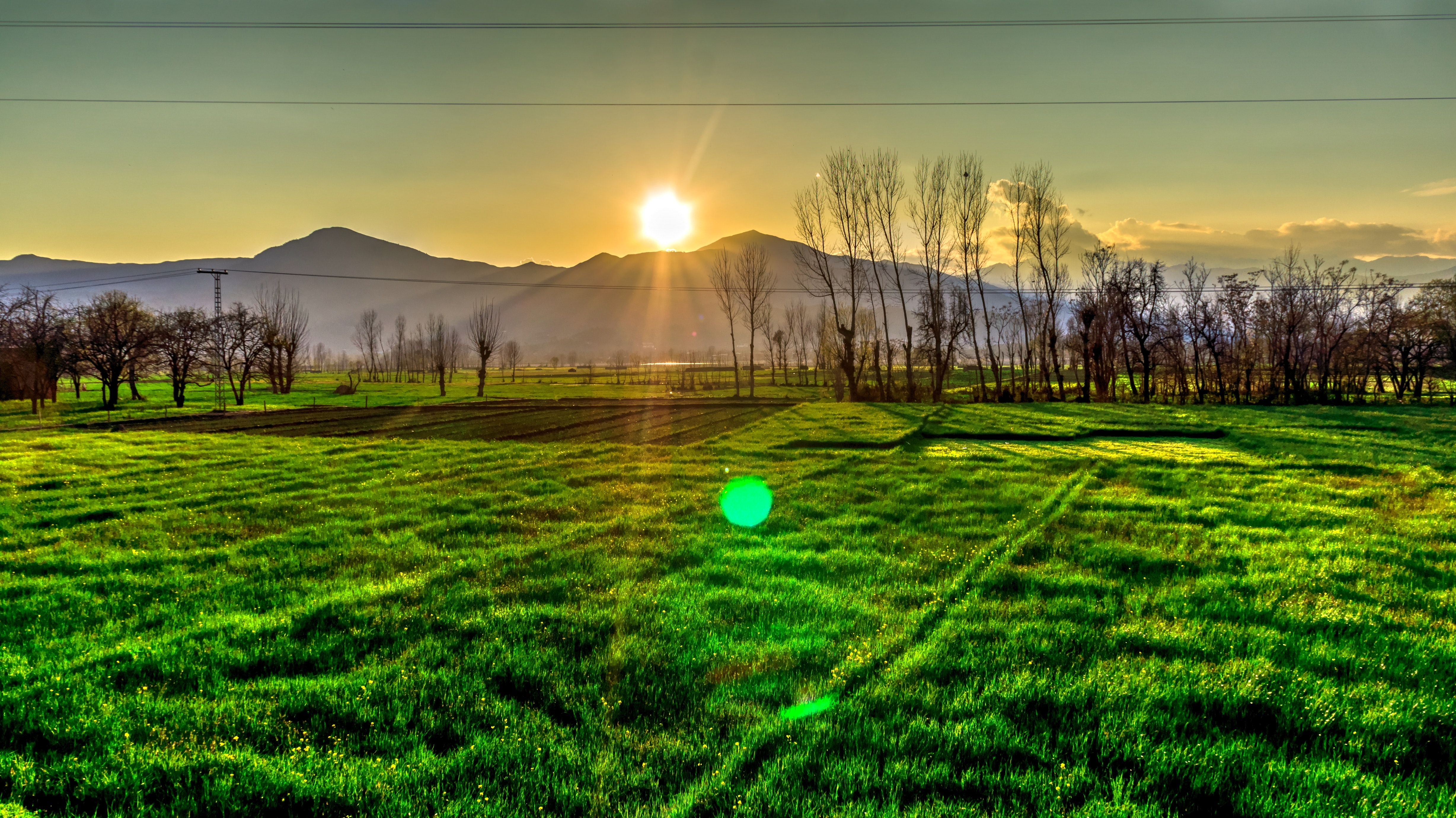 Golden Hour View on the Mountain, Agriculture, Peaceful, Sunset, Sunrise, HQ Photo