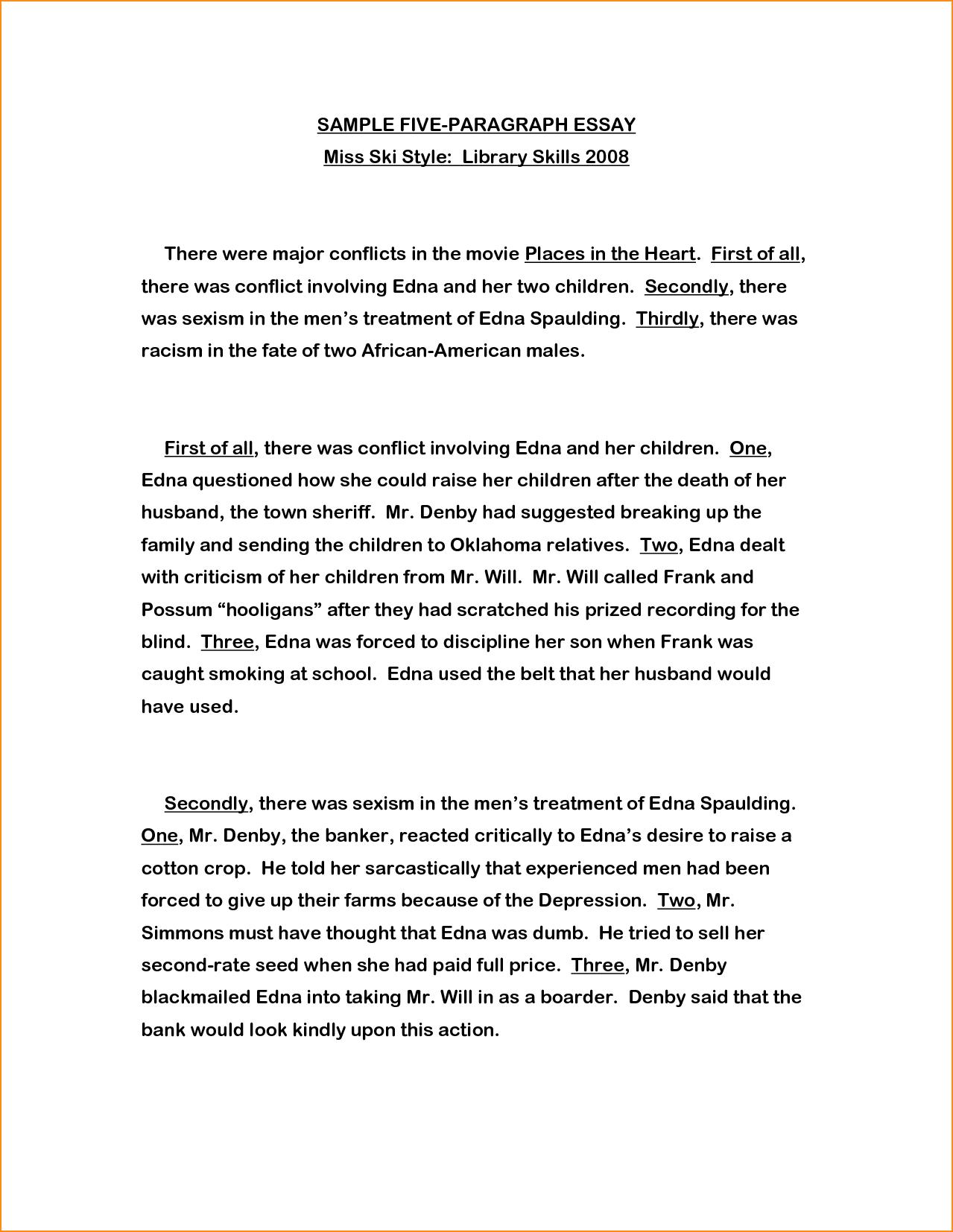 Three paragraph essay examples hepatitze