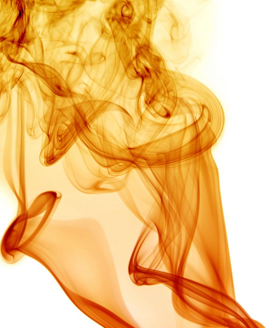 Golden smoke photo