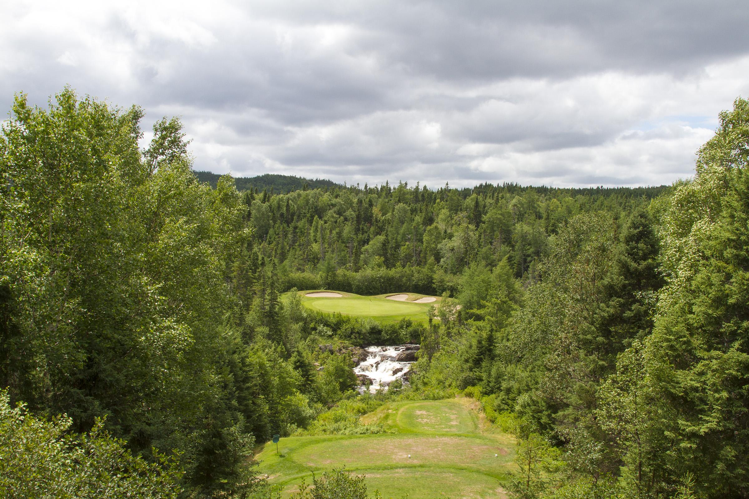 Golf course photo