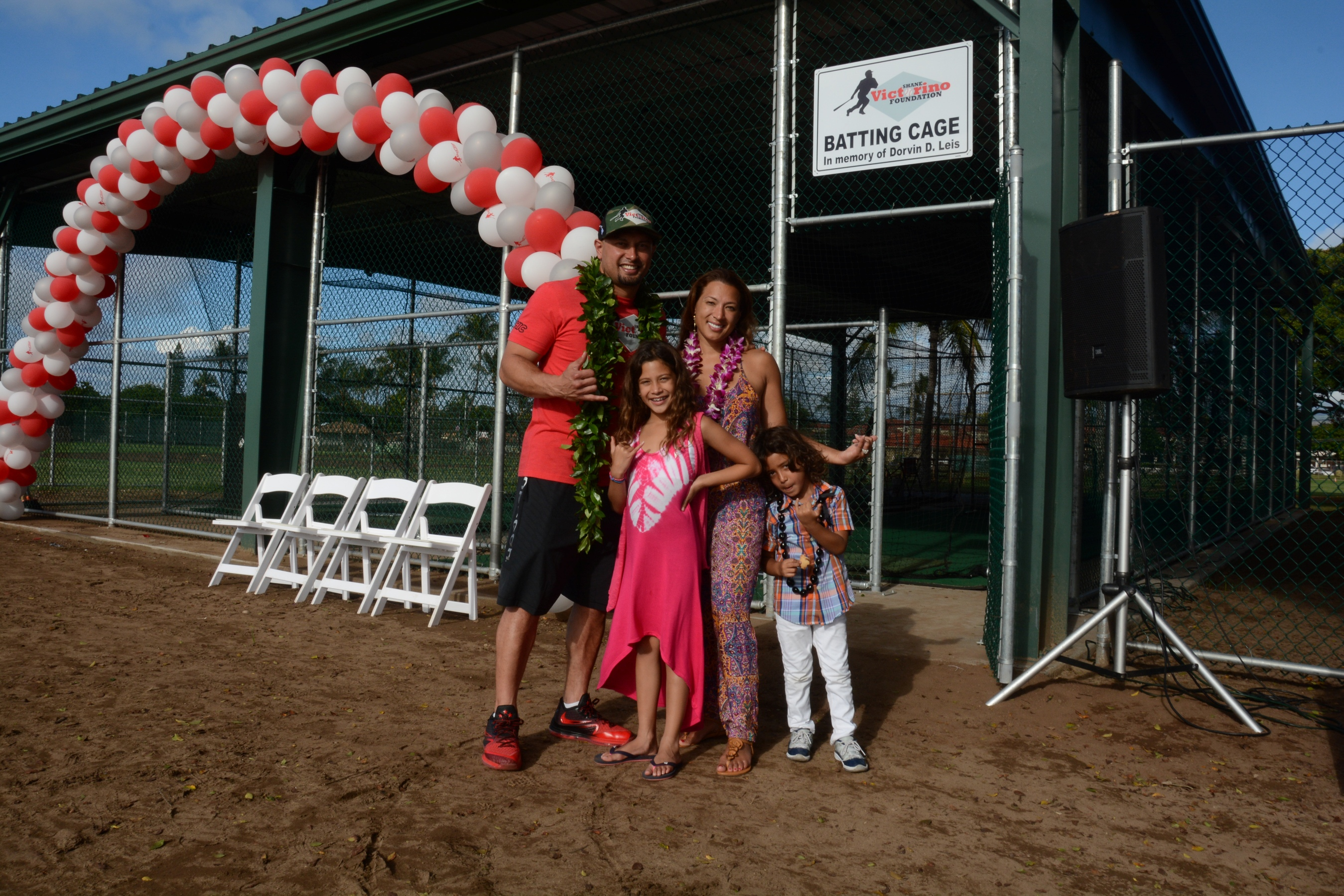 Maui Now : Victorino Hosts 8th Annual Charity Golf Event, Dedicates ...