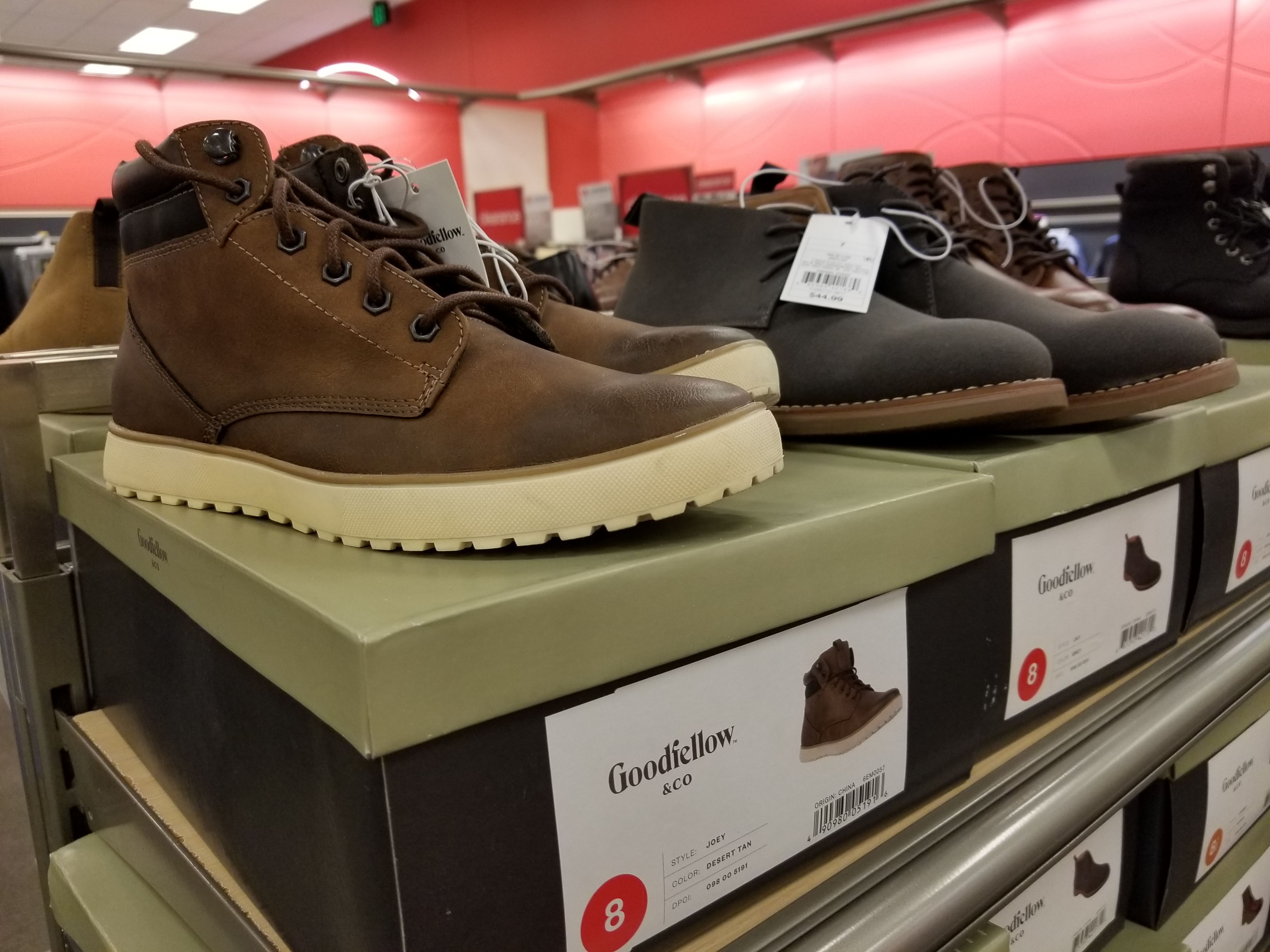 I found Target's new Goodfellow & Co. shoes at my store! - Album on ...