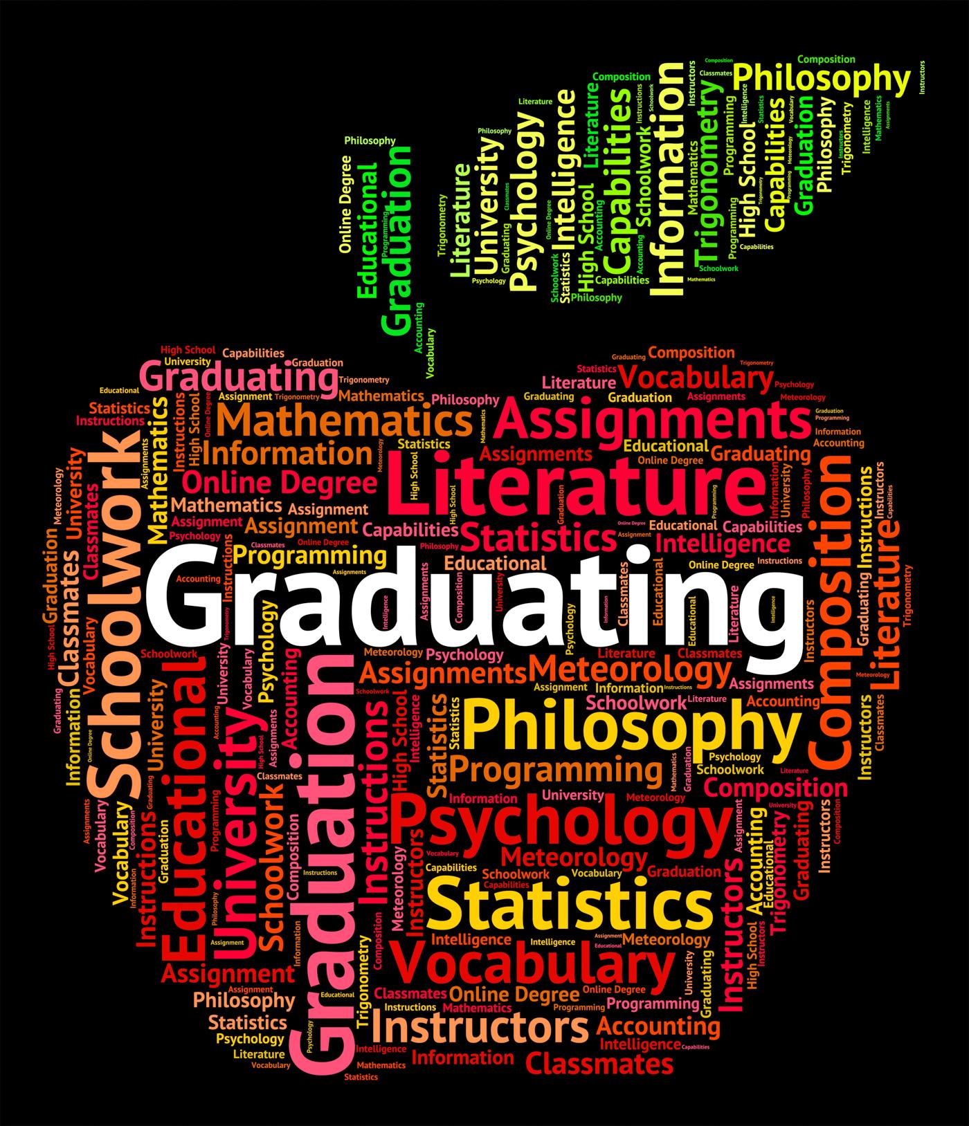 Graduating Word Indicates Studies College And Passing, Masters, Word, University, Uni, HQ Photo