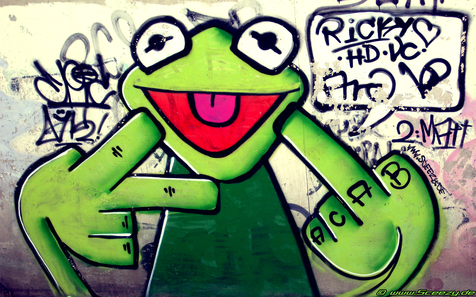 Graffiti Full HD Wallpaper and Background Image | 1920x1200 | ID:212021