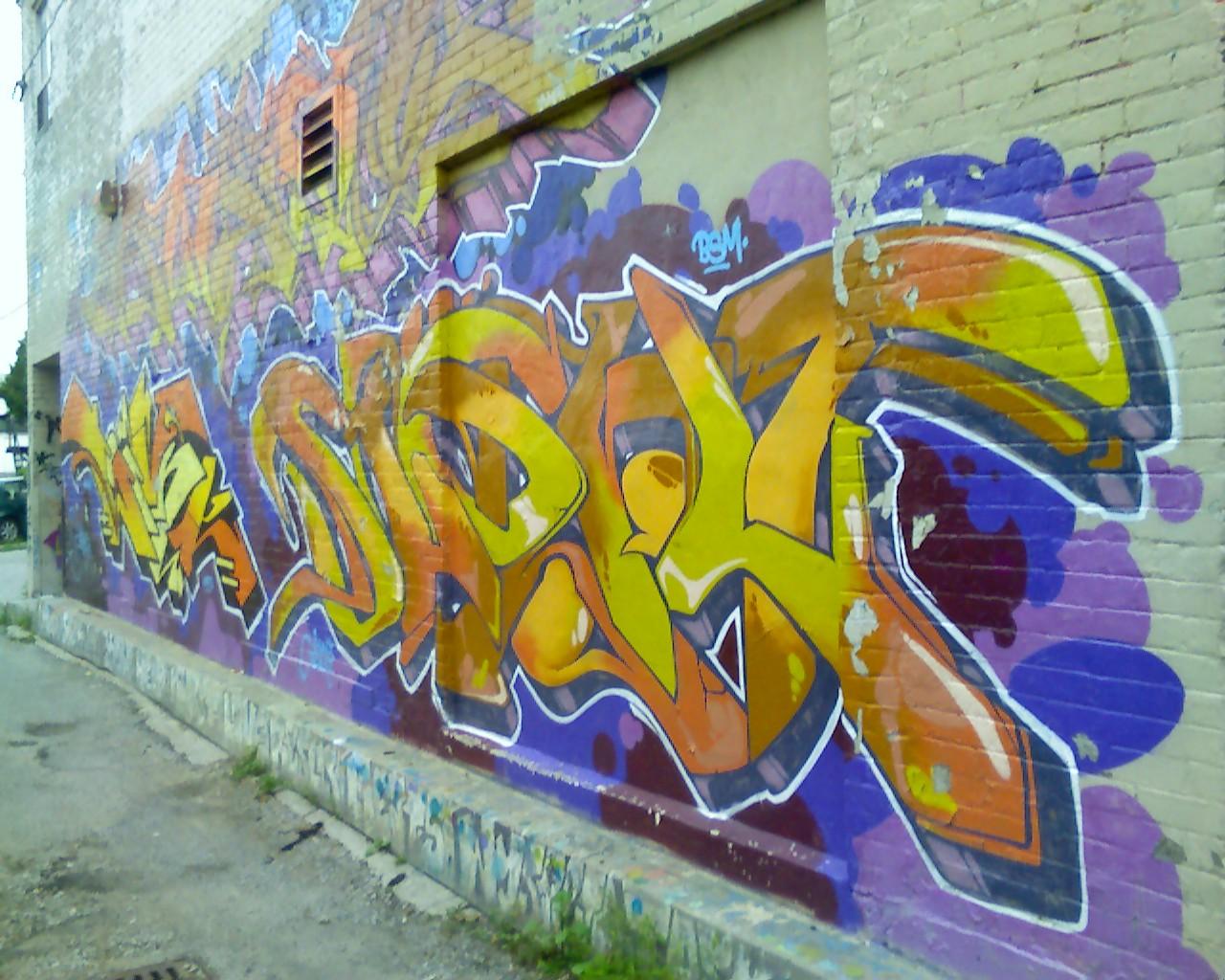 Free photo: Graffiti in Toronto - Toronto, urban, wall - Non ...