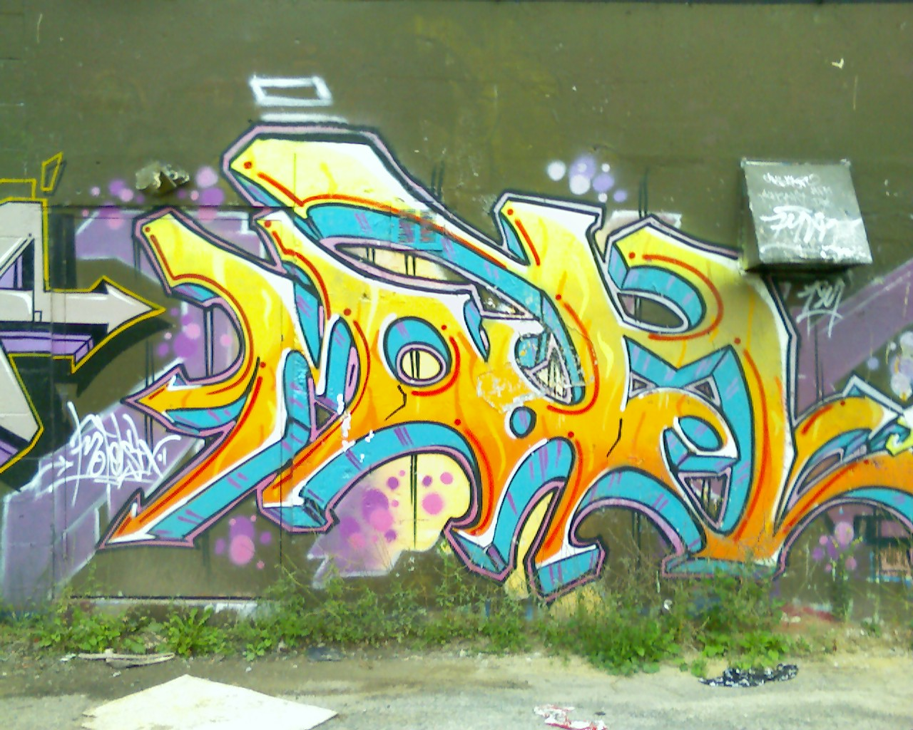 Free photo: Graffiti in Toronto - Toronto, Urban, Wall - Free ...
