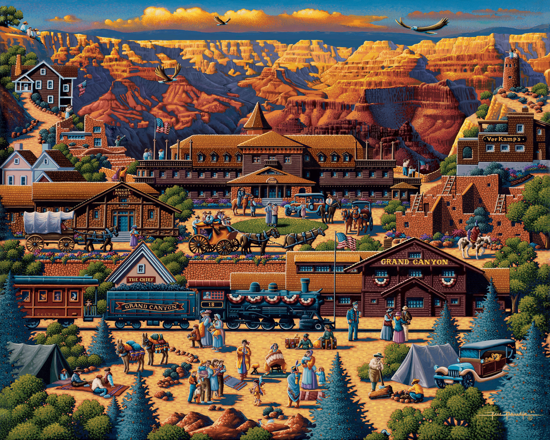 Grand Canyon National Park - Fine Art - Dowdle Folk Art